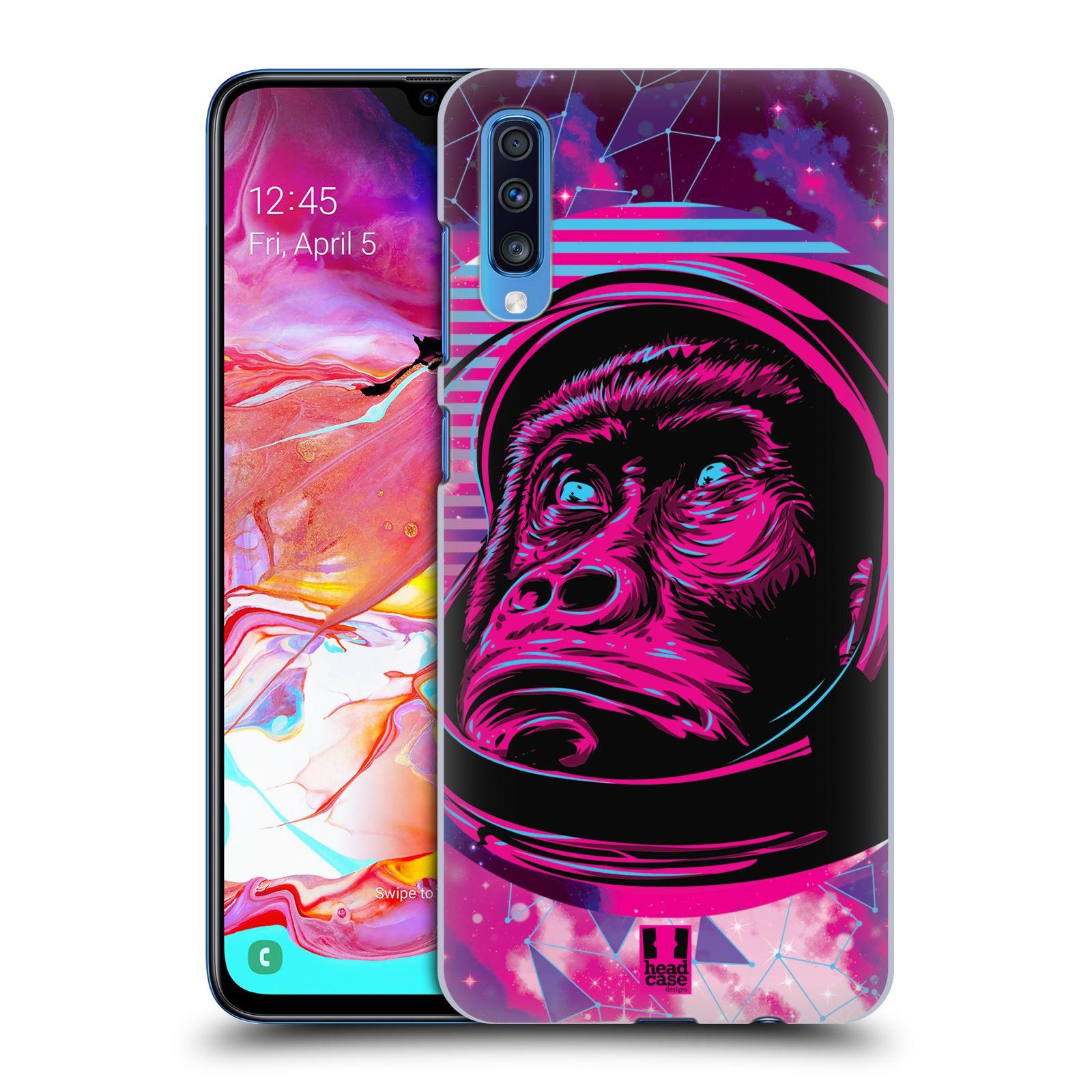 Plastové pouzdro na mobil Samsung Galaxy A70 - Head Case - Gorila ve skafandru