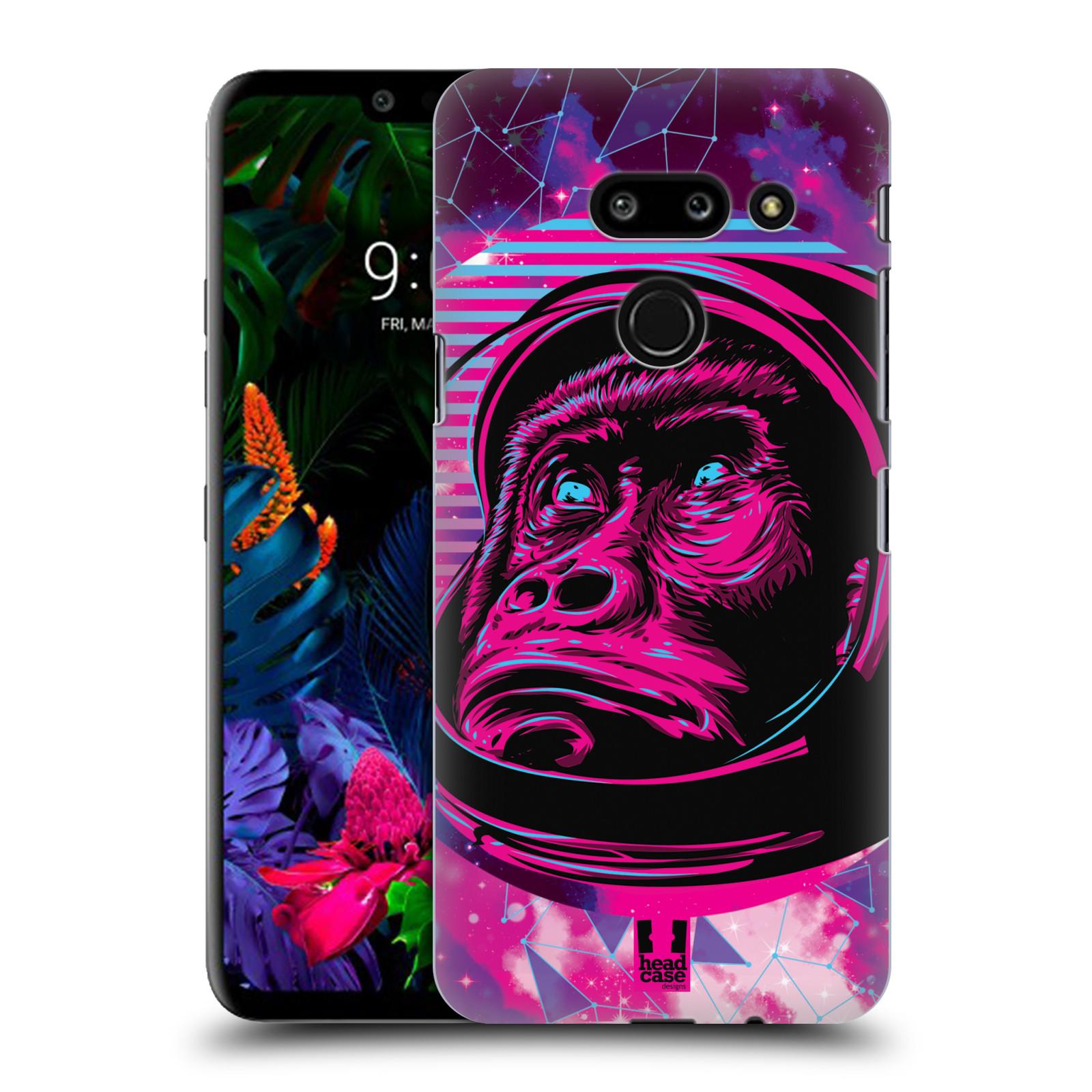 Plastové pouzdro na mobil LG G8 ThinQ - Head Case - Gorila ve skafandru