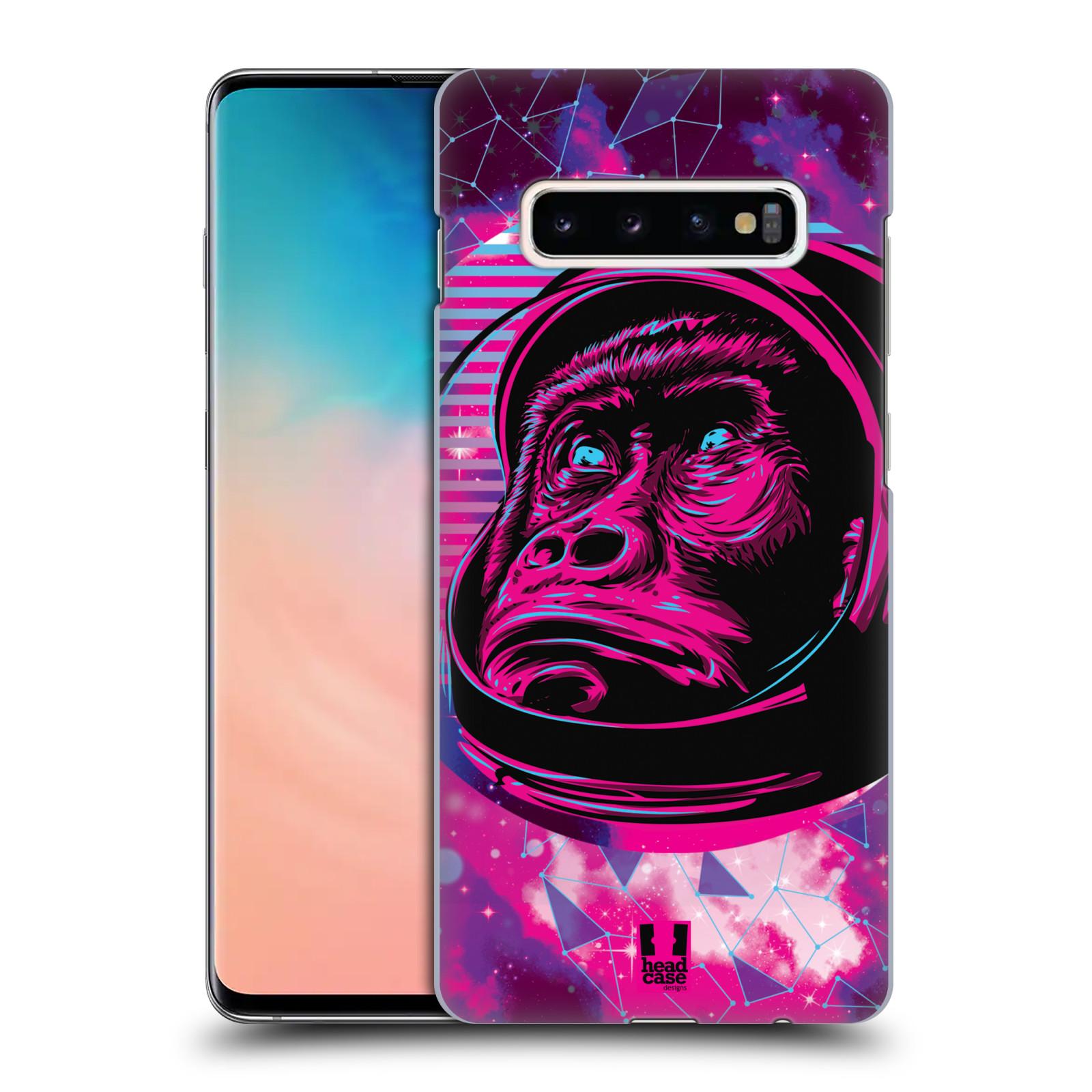 Plastové pouzdro na mobil Samsung Galaxy S10 Plus - Head Case - Gorila ve skafandru