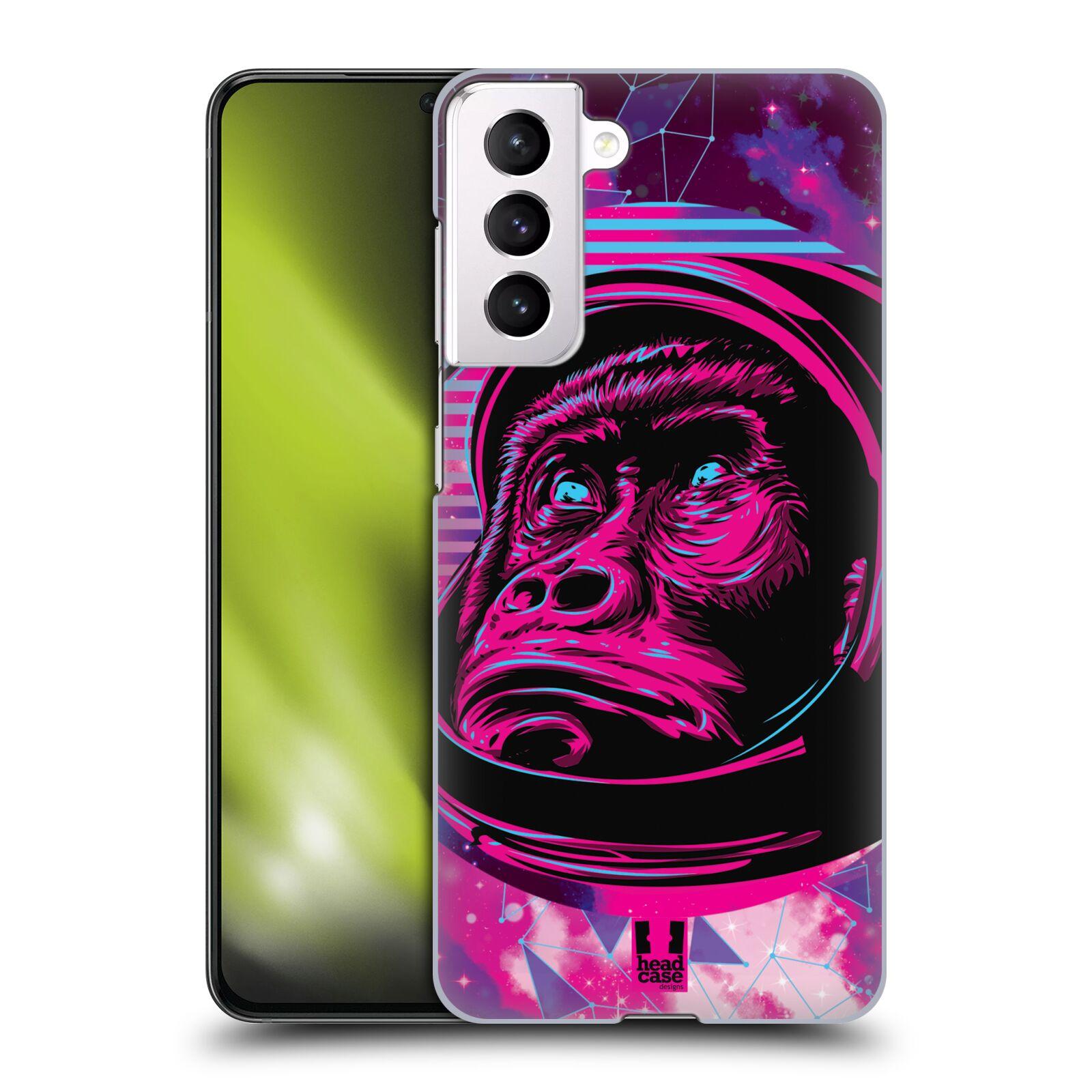 Plastové pouzdro na mobil Samsung Galaxy S21 5G - Head Case - Gorila ve skafandru