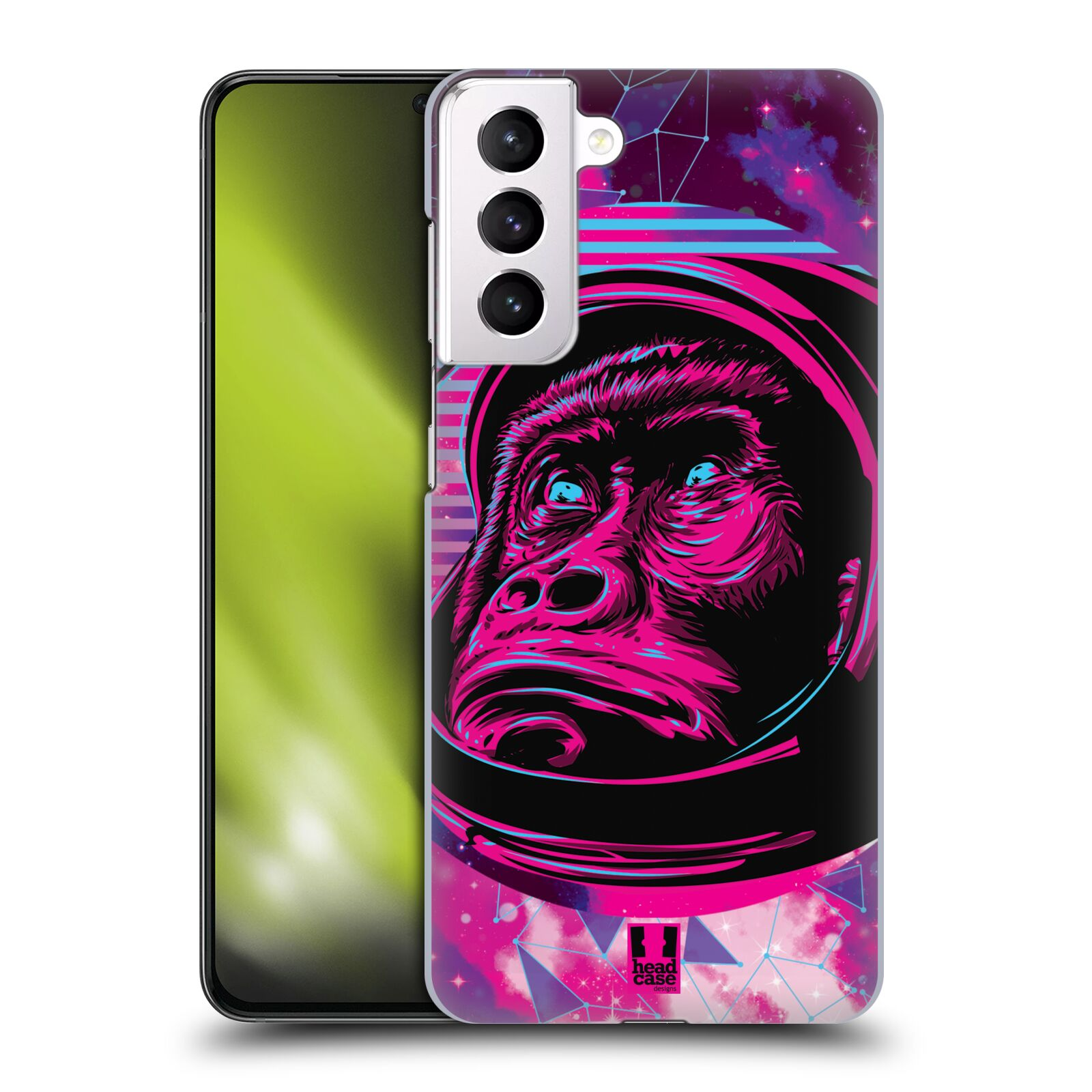 Plastové pouzdro na mobil Samsung Galaxy S21 Plus 5G - Head Case - Gorila ve skafandru