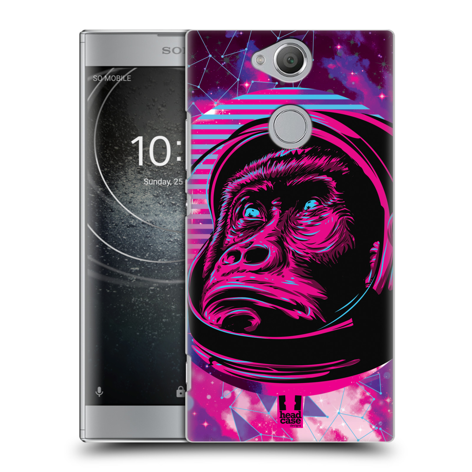 Plastové pouzdro na mobil Sony Xperia XA2 - Head Case - Gorila ve skafandru