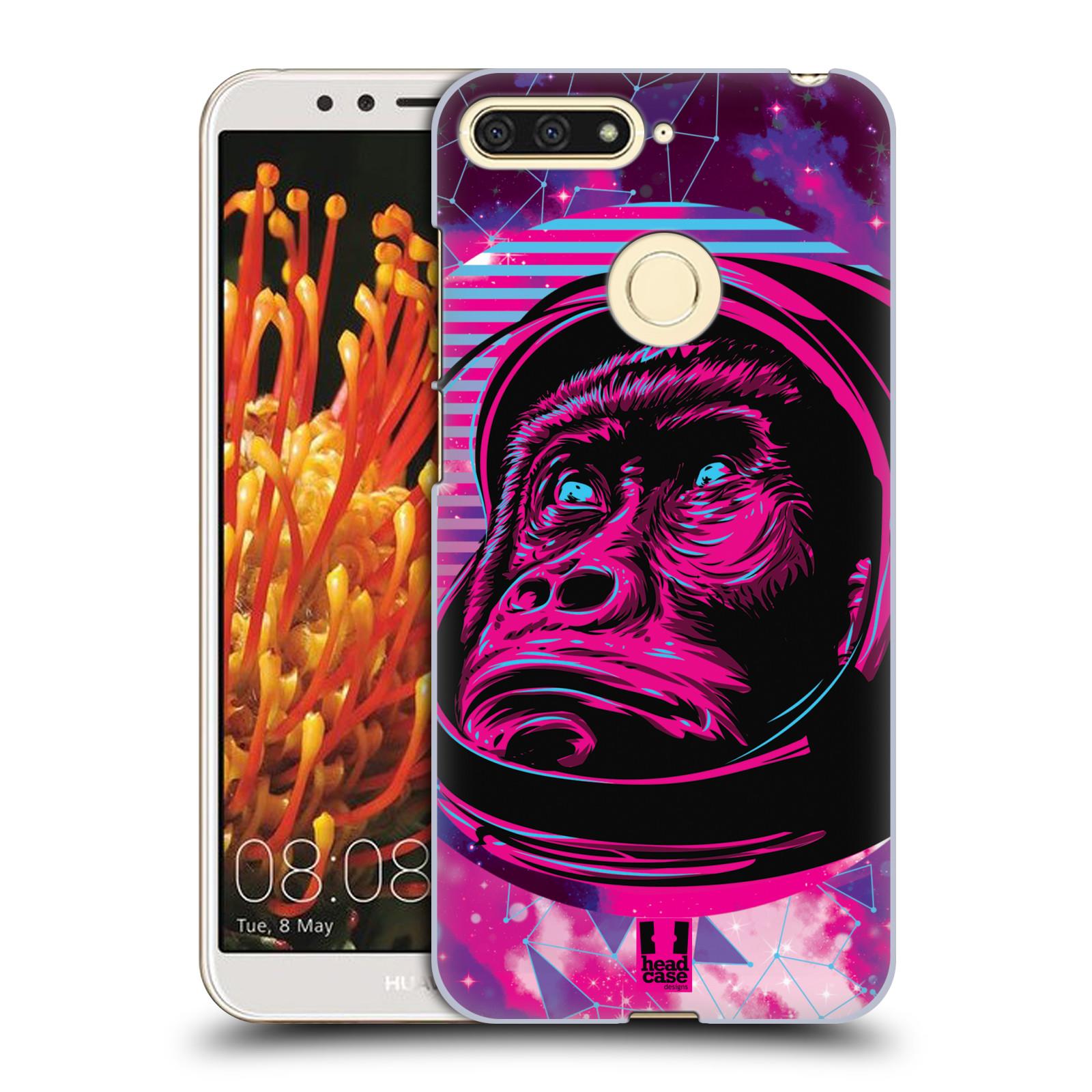 Plastové pouzdro na mobil Huawei Y6 Prime 2018 - Head Case - Gorila ve skafandru