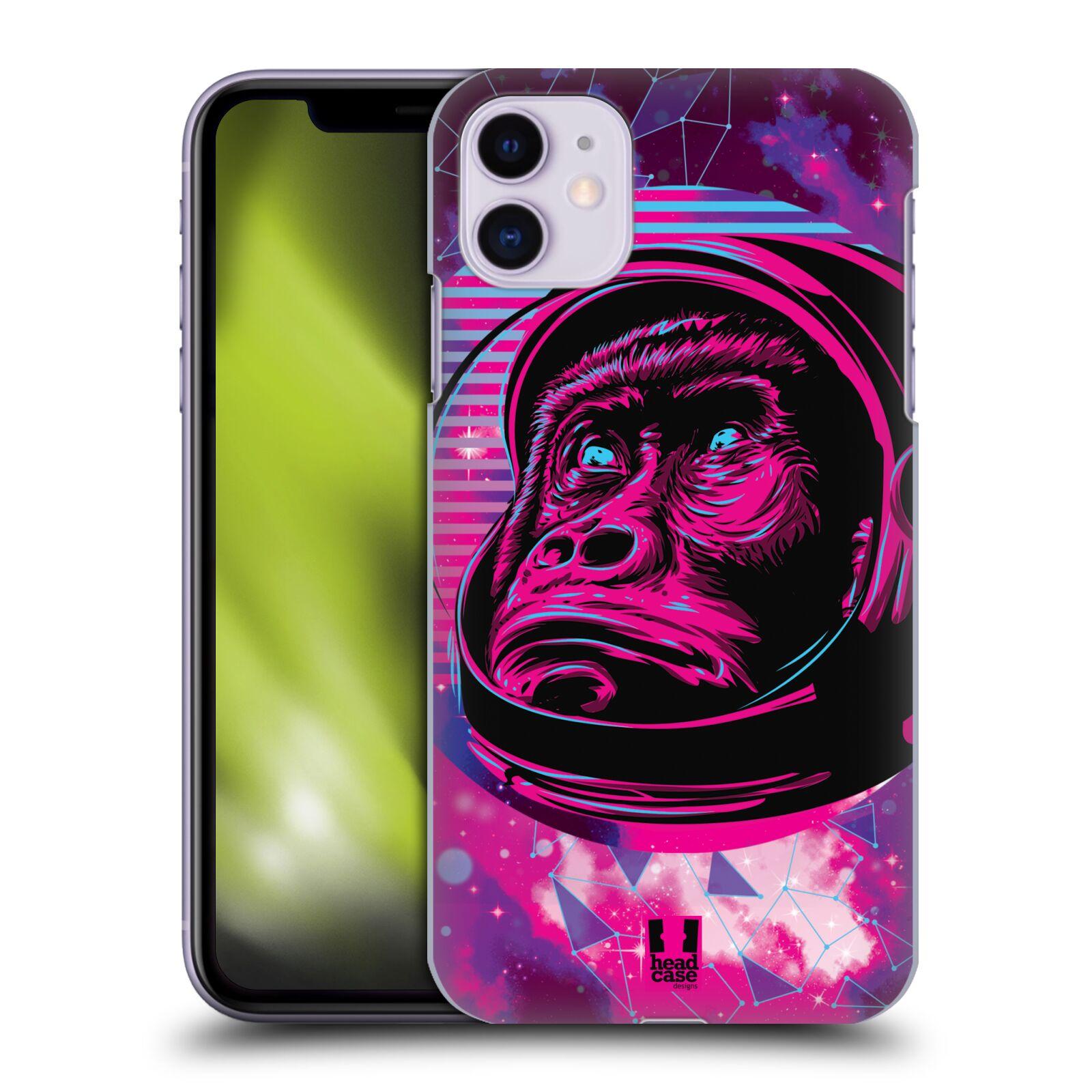 Plastové pouzdro na mobil Apple iPhone 11 - Head Case - Gorila ve skafandru