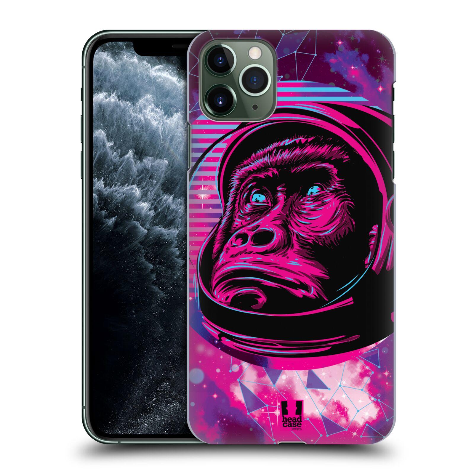 Plastové pouzdro na mobil Apple iPhone 11 Pro Max - Head Case - Gorila ve skafandru