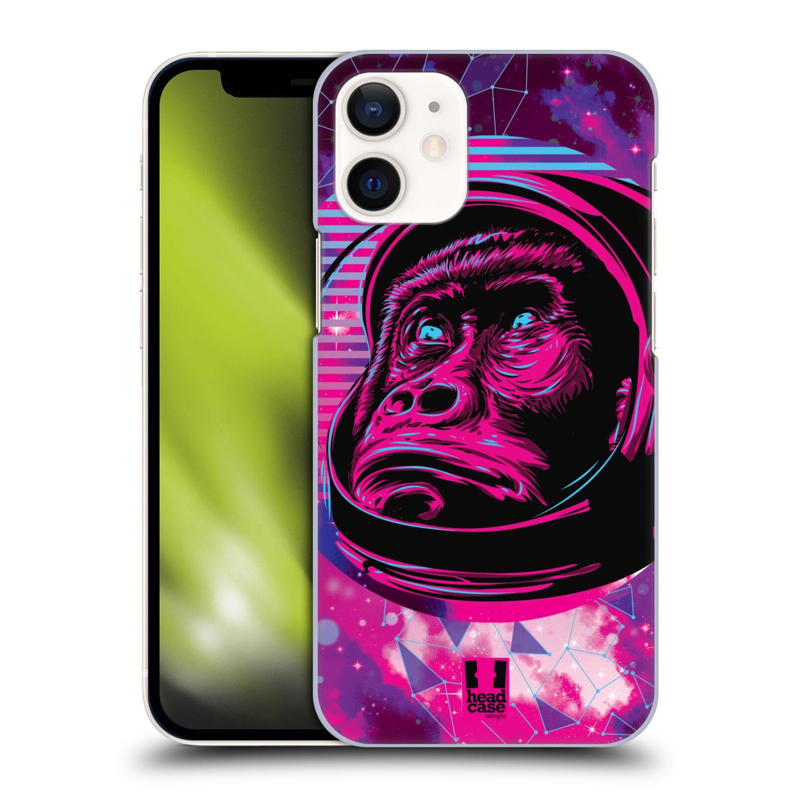 Plastové pouzdro na mobil Apple iPhone 12 Mini - Head Case - Gorila ve skafandru