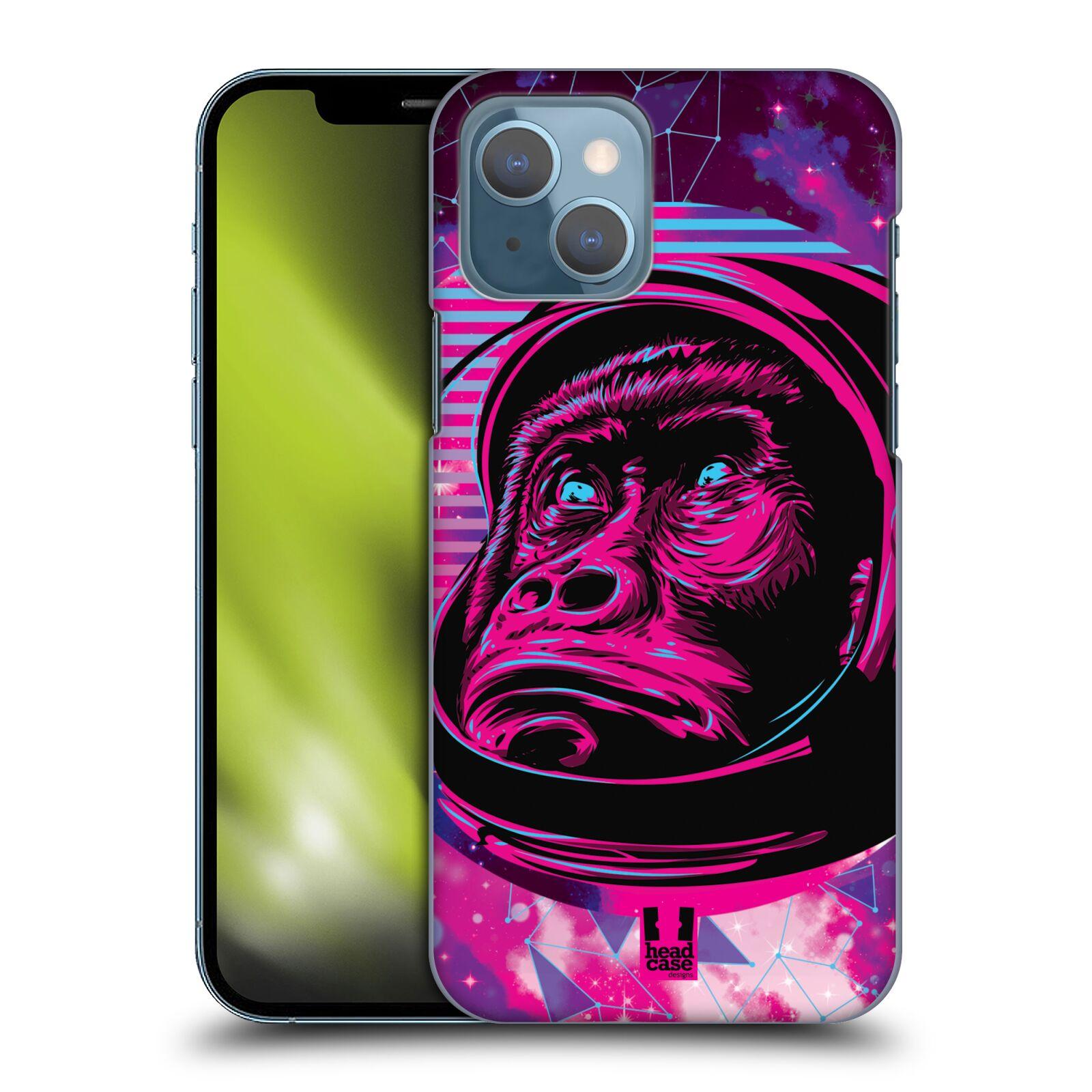 Plastové pouzdro na mobil Apple iPhone 13 - Head Case - Gorila ve skafandru