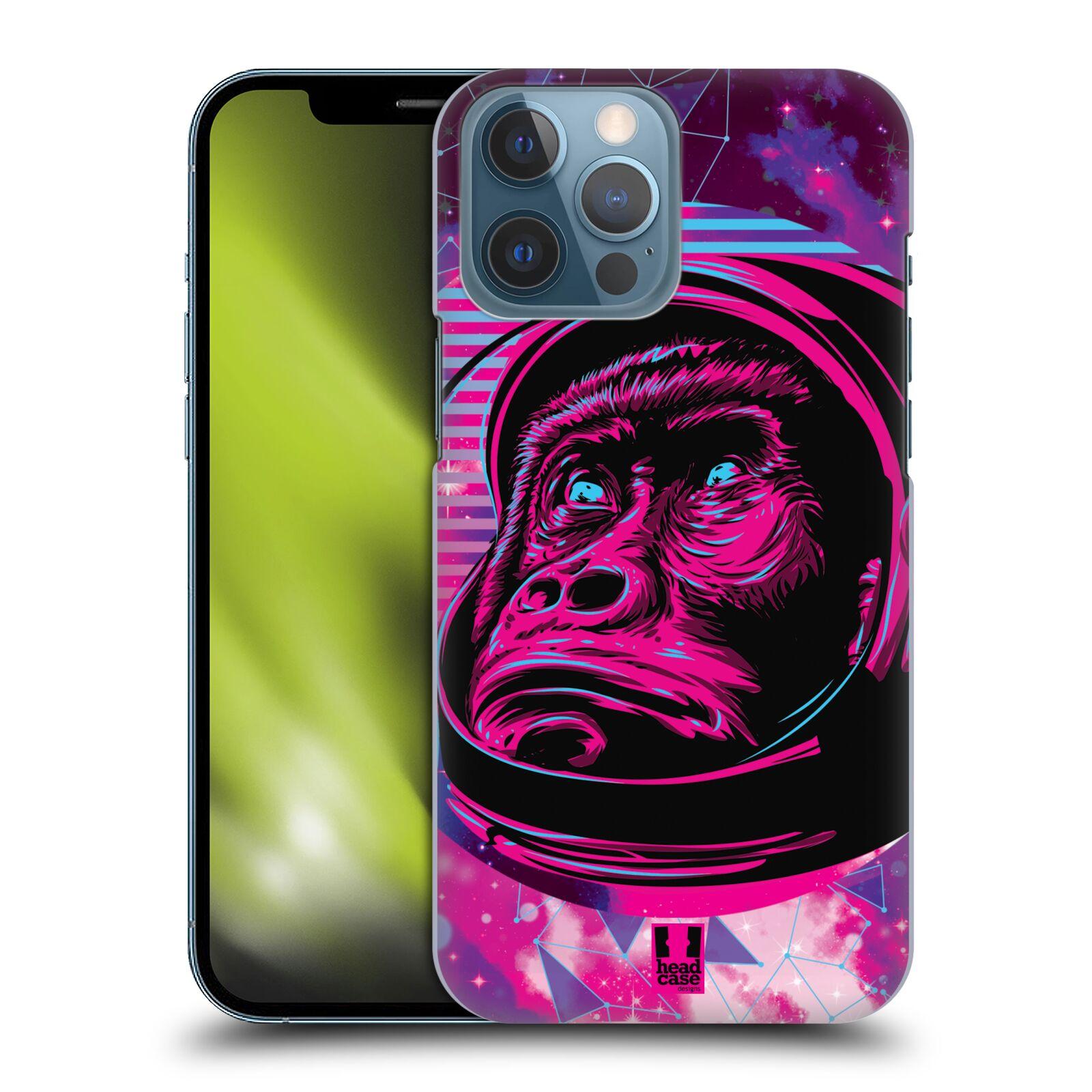 Plastové pouzdro na mobil Apple iPhone 13 Pro Max - Head Case - Gorila ve skafandru