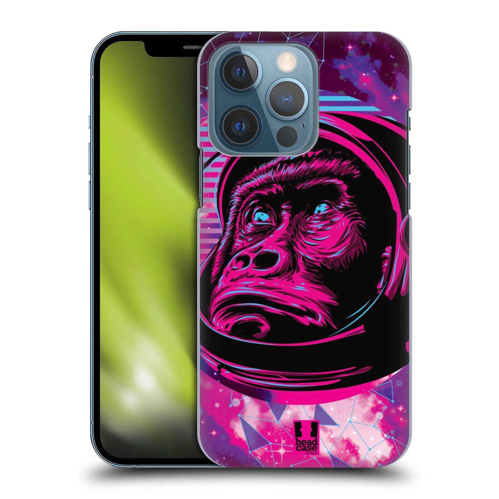 Plastové pouzdro na mobil Apple iPhone 13 Pro - Head Case - Gorila ve skafandru