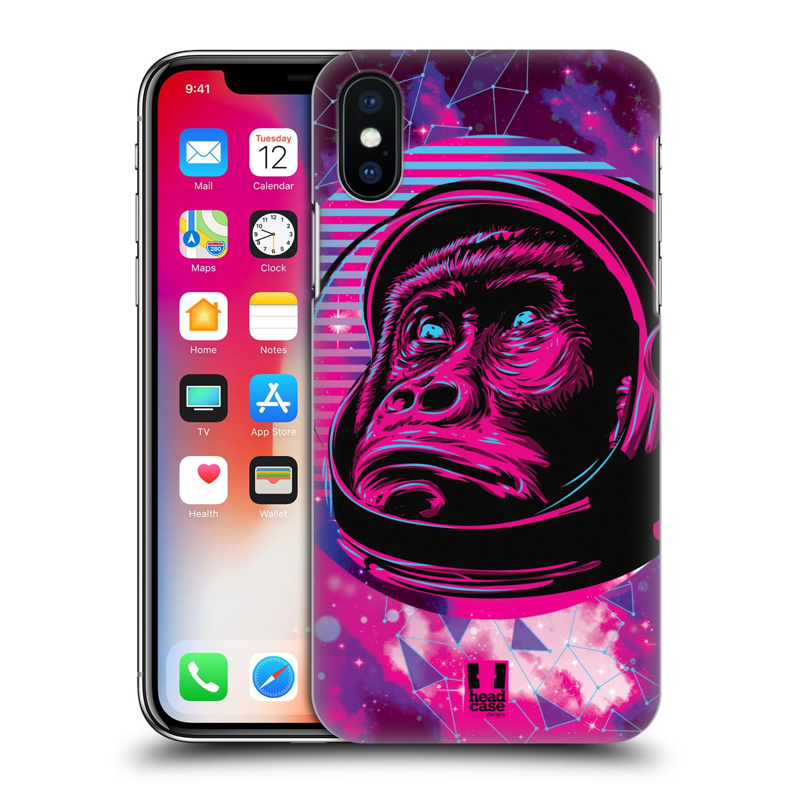 Plastové pouzdro na mobil Apple iPhone X - Head Case - Gorila ve skafandru