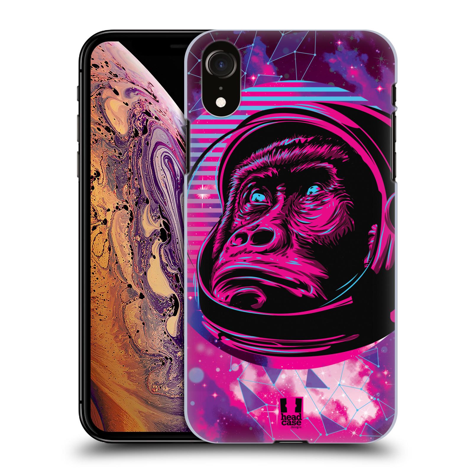 Plastové pouzdro na mobil Apple iPhone XR - Head Case - Gorila ve skafandru