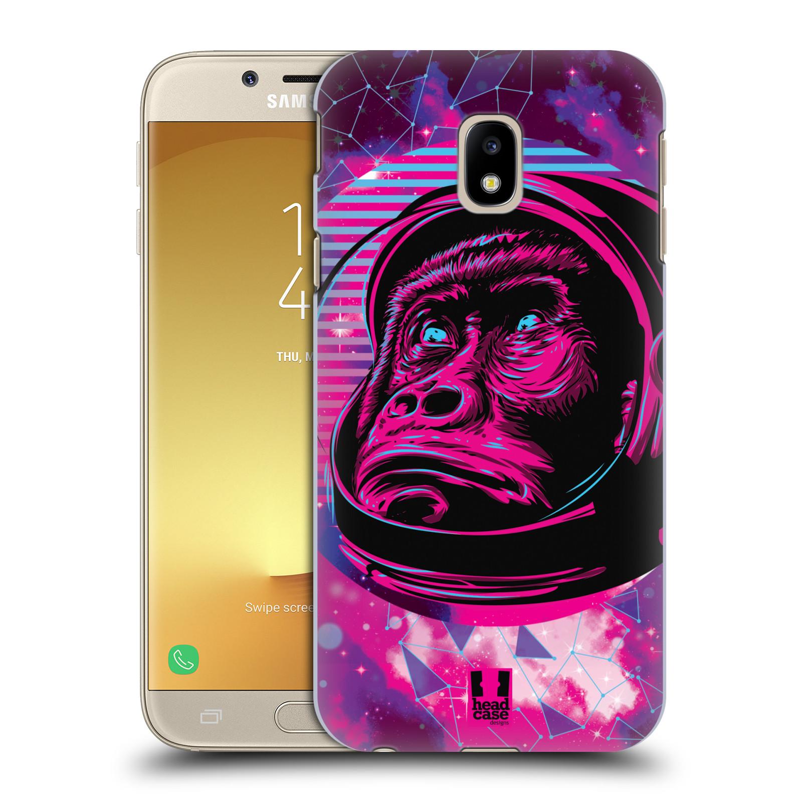 Plastové pouzdro na mobil Samsung Galaxy J3 (2017) - Head Case - Gorila ve skafandru