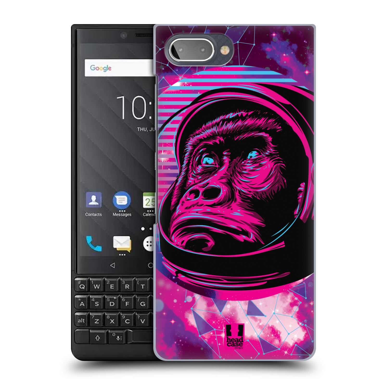 Plastové pouzdro na mobil Blackberry Key 2 - Head Case - Gorila ve skafandru
