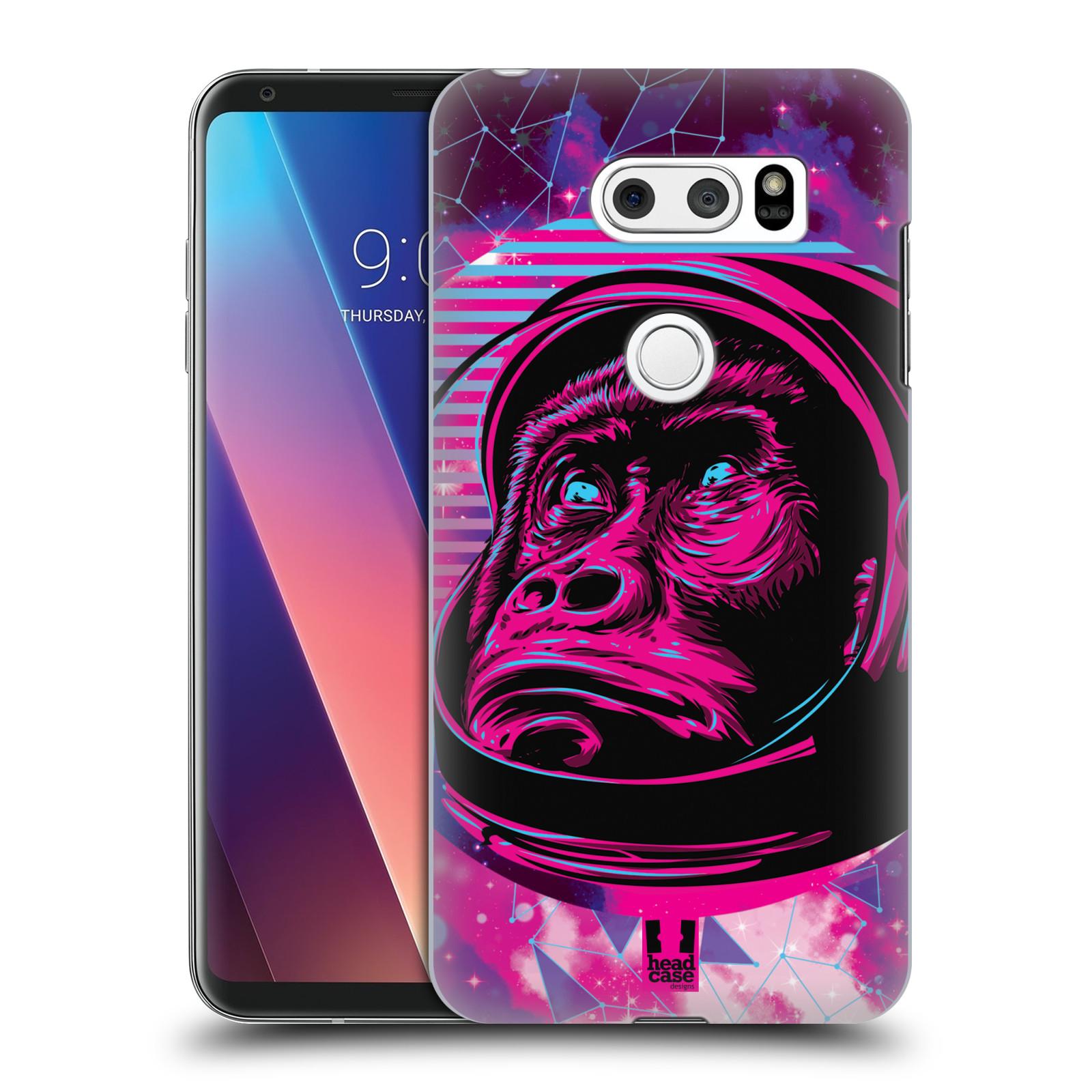 Plastové pouzdro na mobil LG V30 - Head Case - Gorila ve skafandru