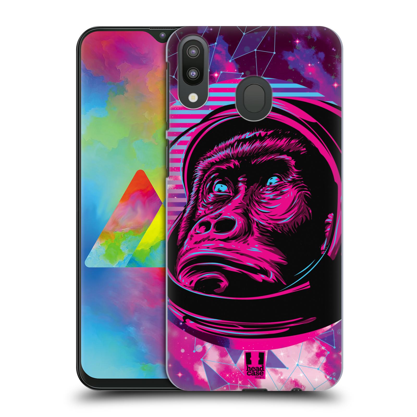 Plastové pouzdro na mobil Samsung Galaxy M20 - Head Case - Gorila ve skafandru