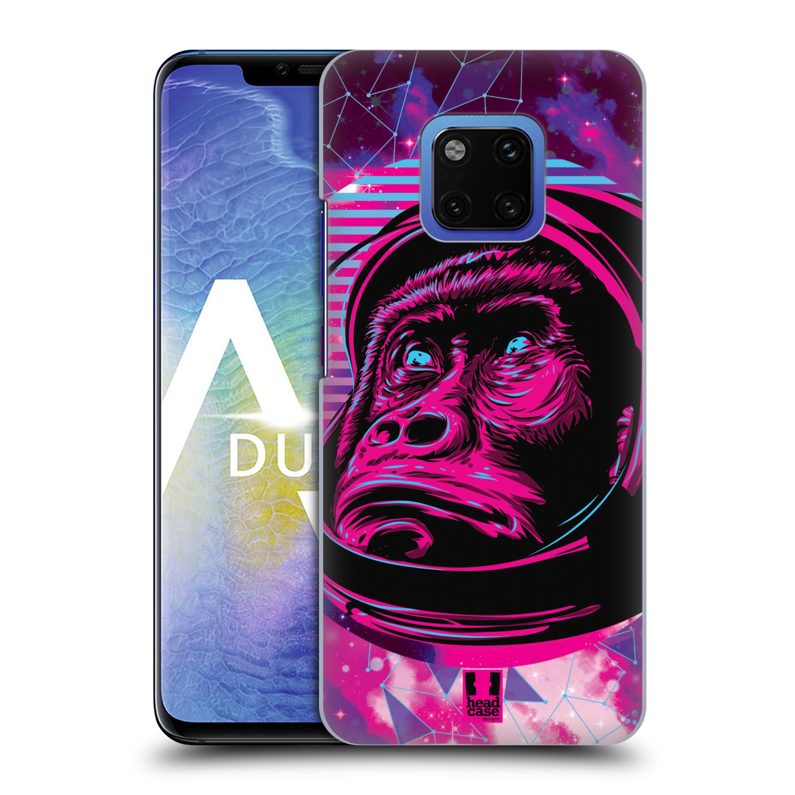 Plastové pouzdro na mobil Huawei Mate 20 Pro - Head Case - Gorila ve skafandru