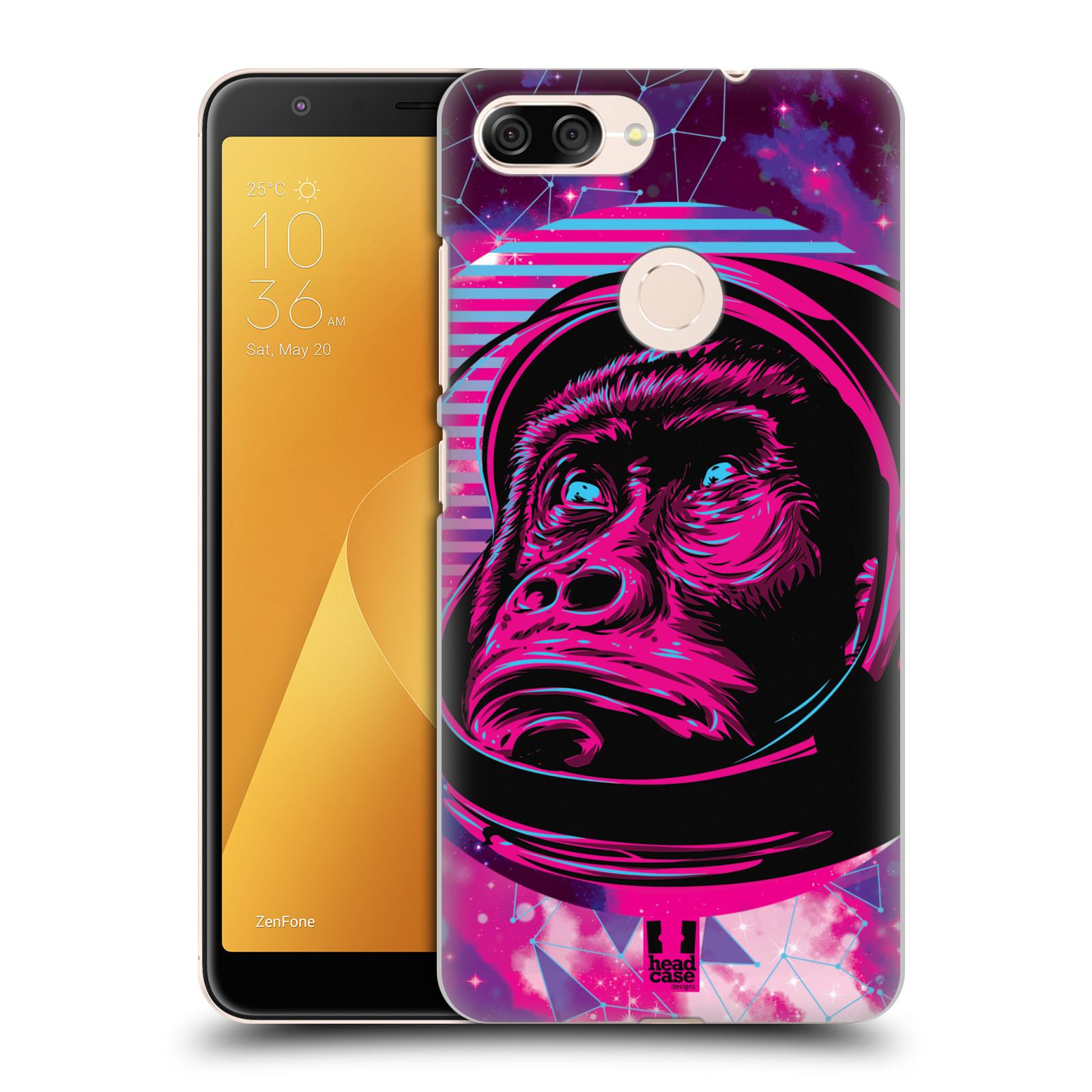 Plastové pouzdro na mobil Asus ZenFone Max Plus (M1) - Head Case - Gorila ve skafandru
