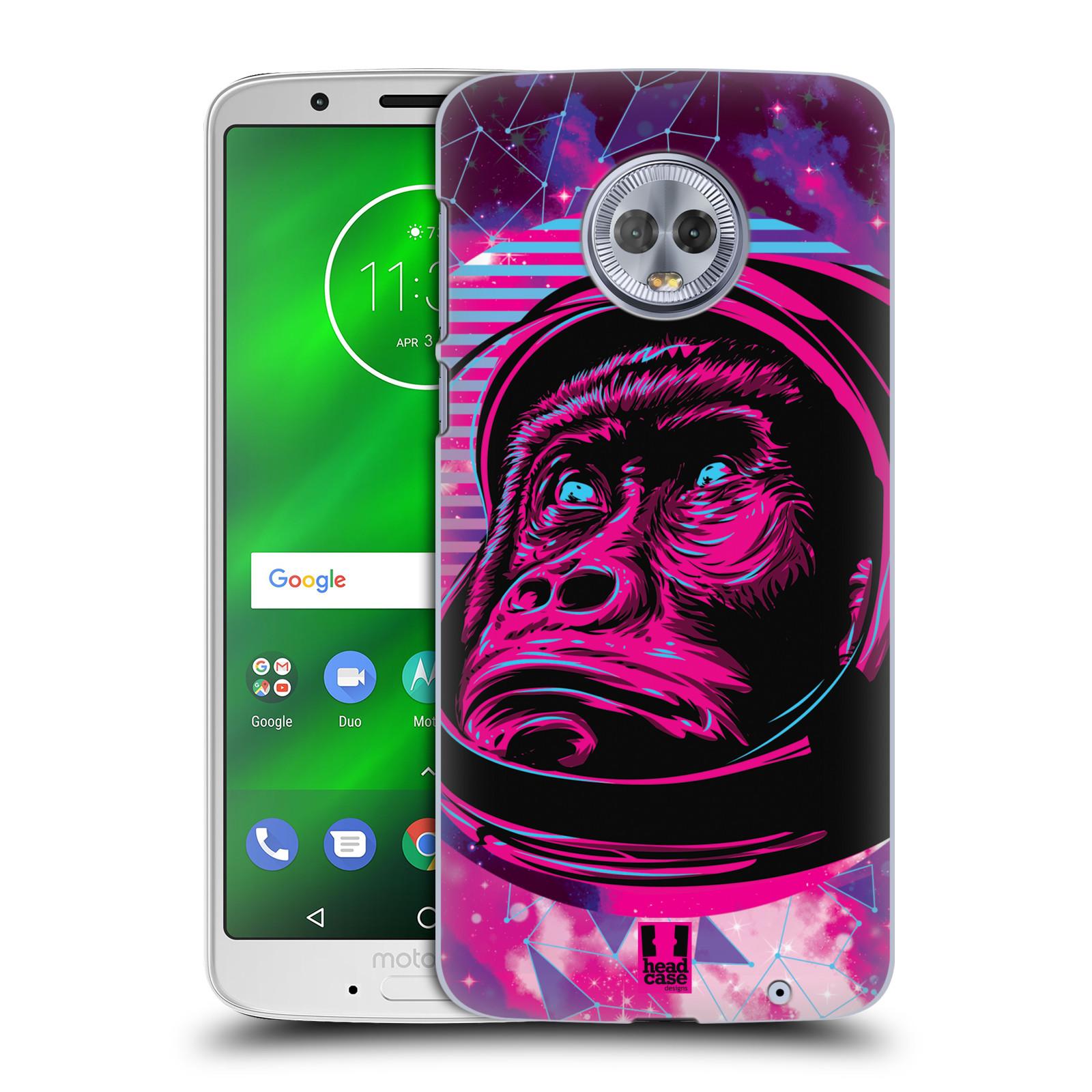 Plastové pouzdro na mobil Motorola Moto G6 Plus - Head Case - Gorila ve skafandru