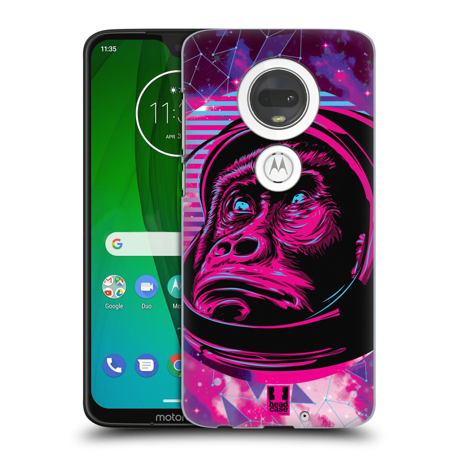 Plastové pouzdro na mobil Motorola Moto G7 - Head Case - Gorila ve skafandru