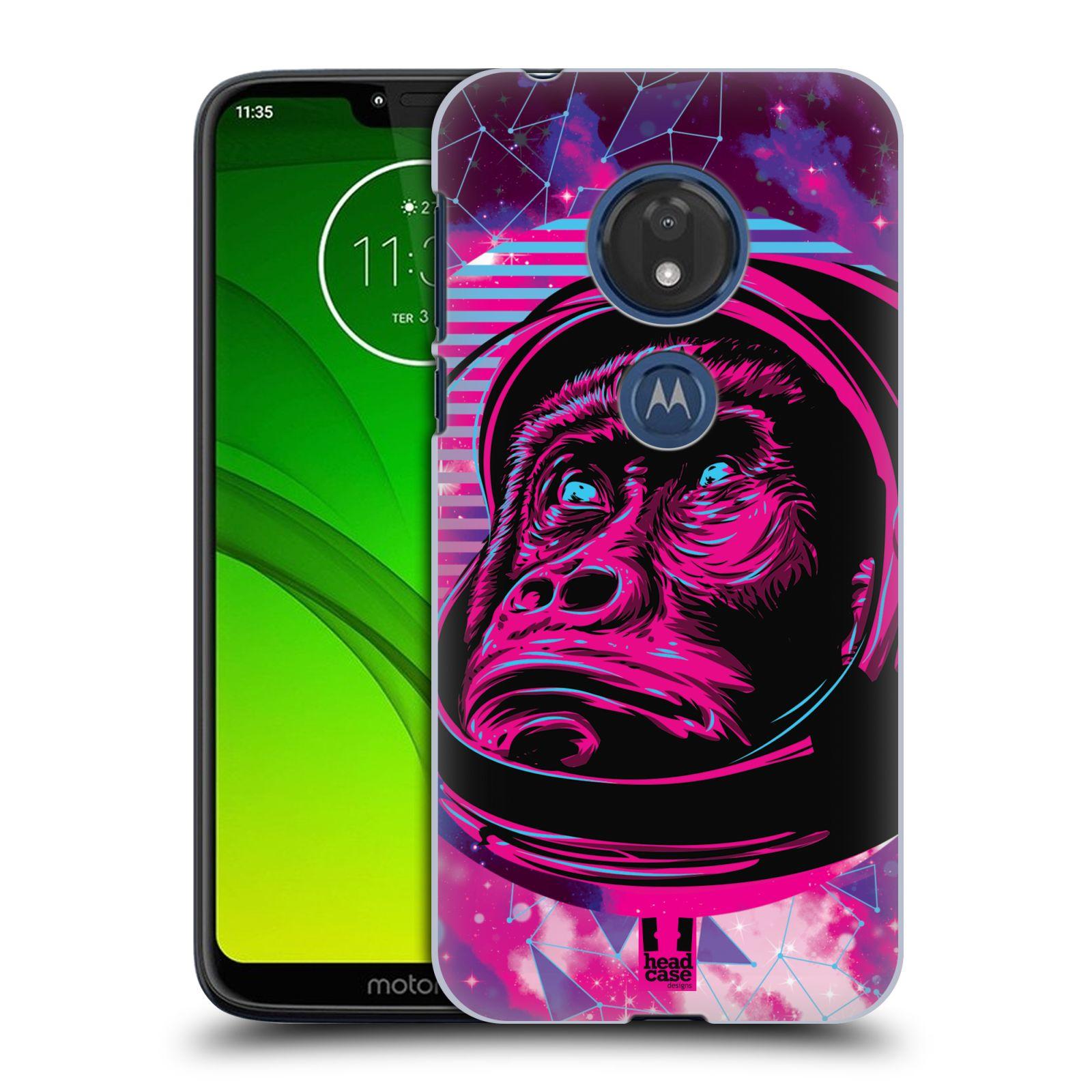 Plastové pouzdro na mobil Motorola Moto G7 Play - Head Case - Gorila ve skafandru