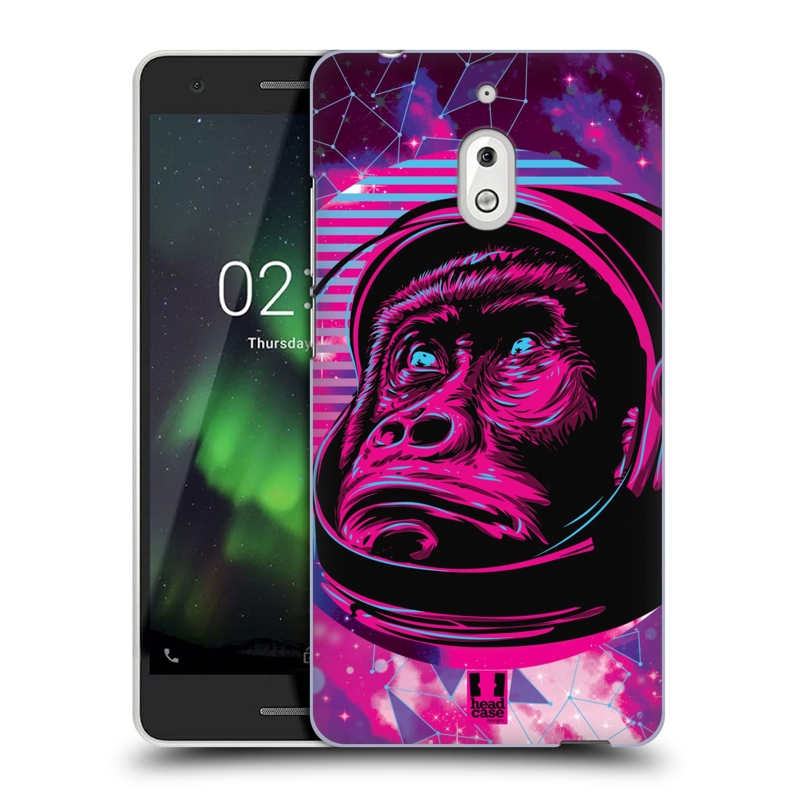 Plastové pouzdro na mobil Nokia 2.1 - Head Case - Gorila ve skafandru