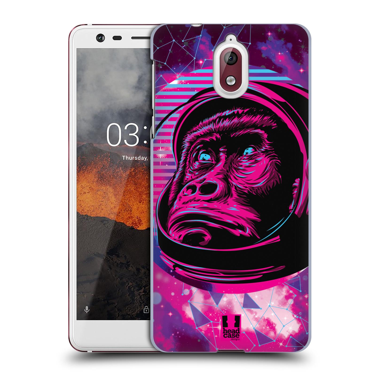 Plastové pouzdro na mobil Nokia 3.1 - Head Case - Gorila ve skafandru