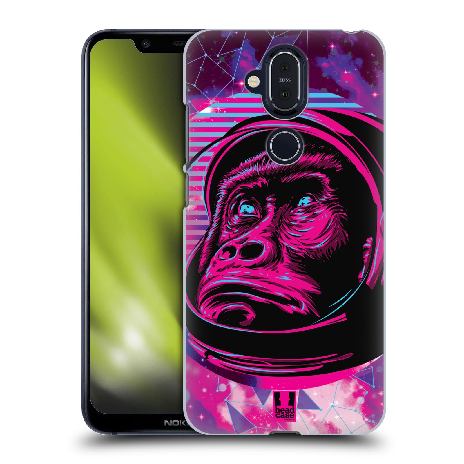 Plastové pouzdro na mobil Nokia 8.1 - Head Case - Gorila ve skafandru