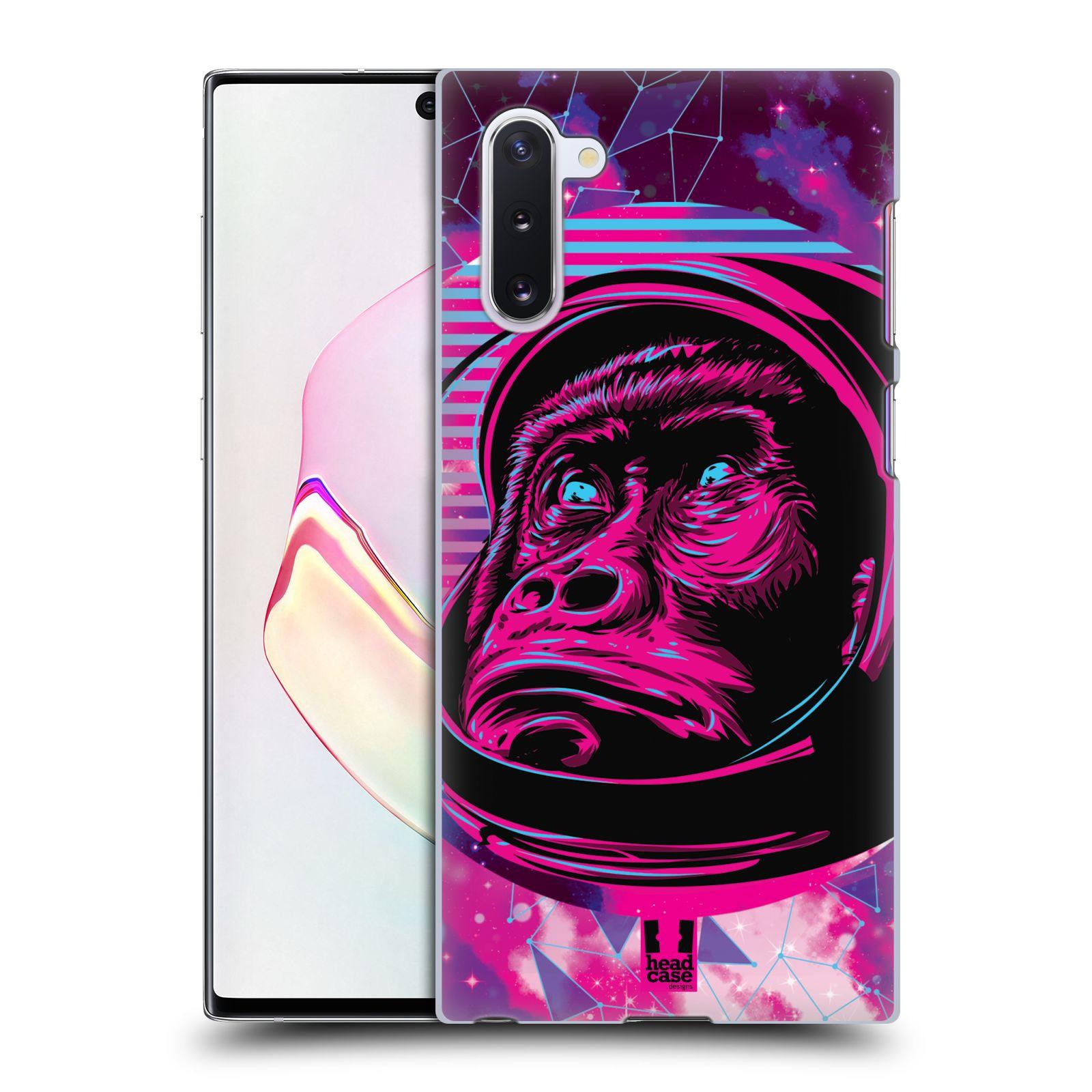 Plastové pouzdro na mobil Samsung Galaxy Note 10 - Head Case - Gorila ve skafandru