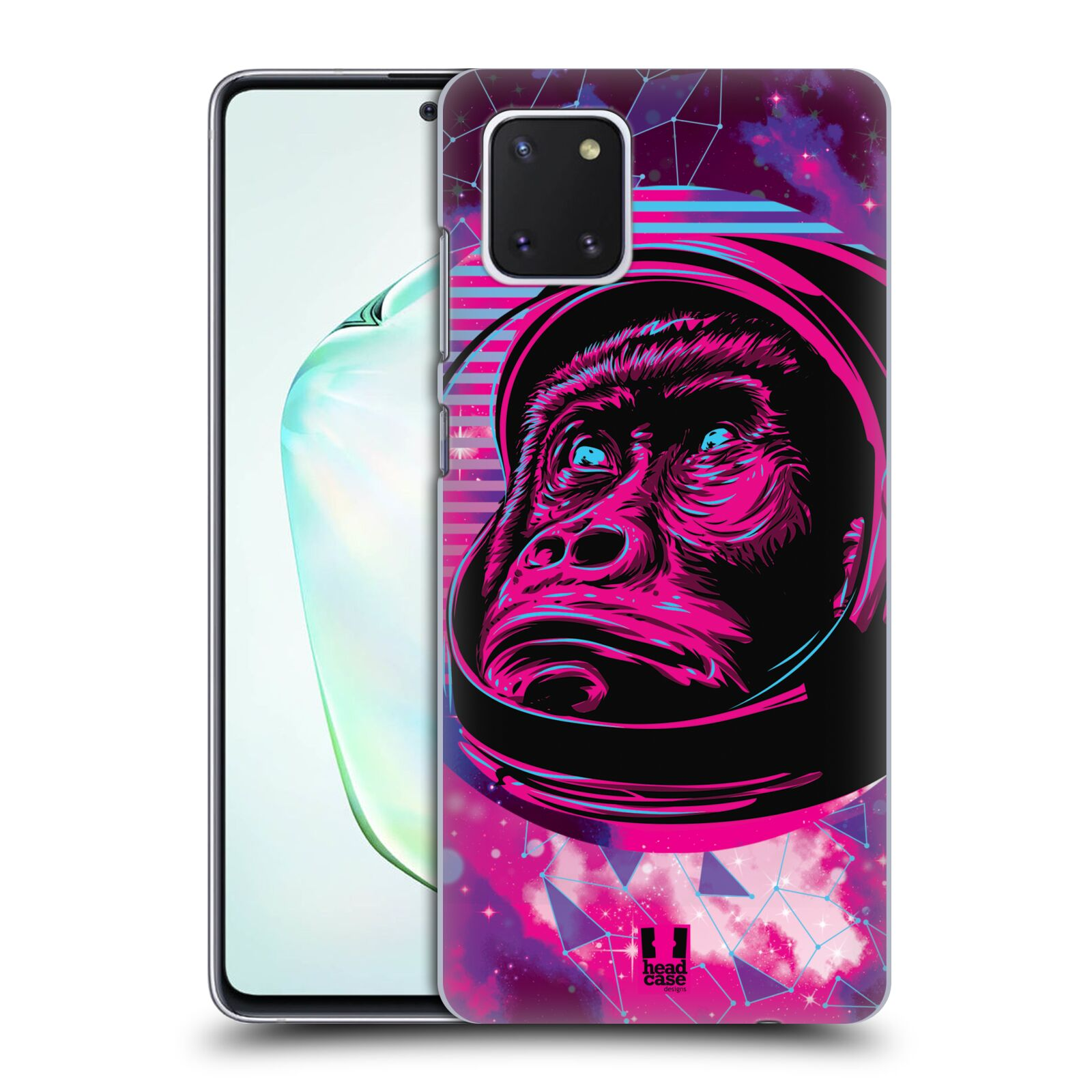 Plastové pouzdro na mobil Samsung Galaxy Note 10 Lite - Head Case - Gorila ve skafandru