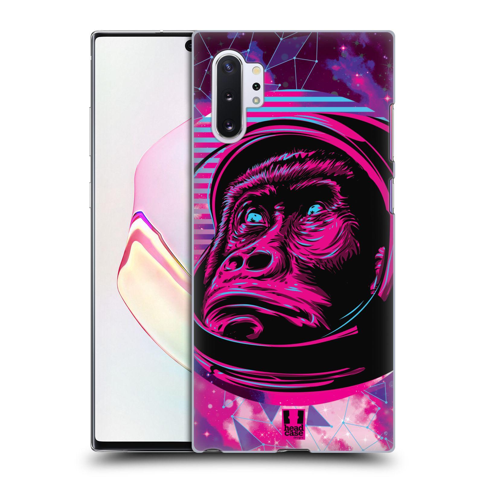 Plastové pouzdro na mobil Samsung Galaxy Note 10 Plus - Head Case - Gorila ve skafandru