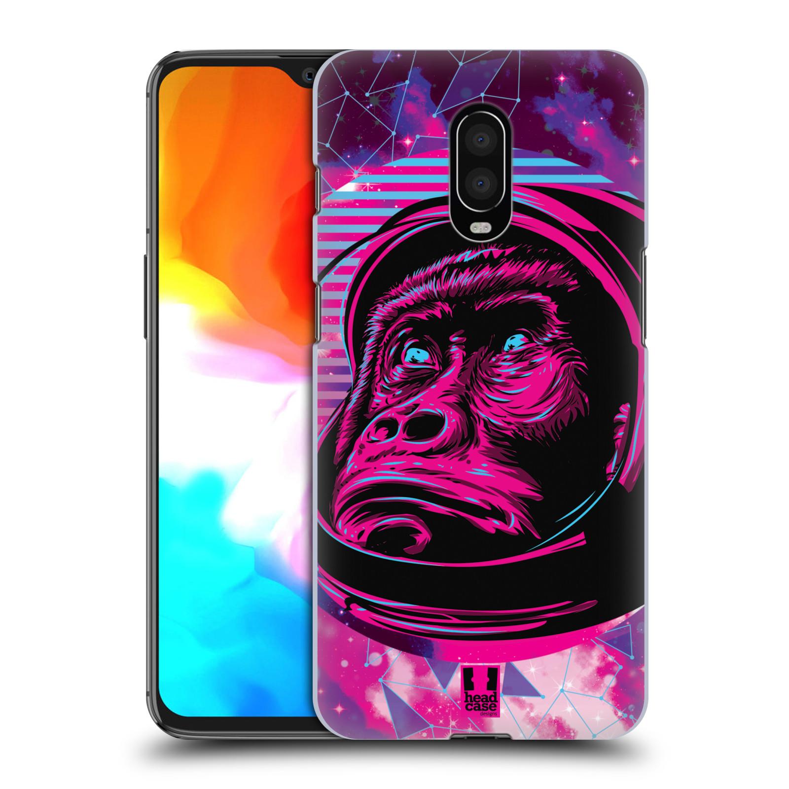Plastové pouzdro na mobil OnePlus 6T - Head Case - Gorila ve skafandru