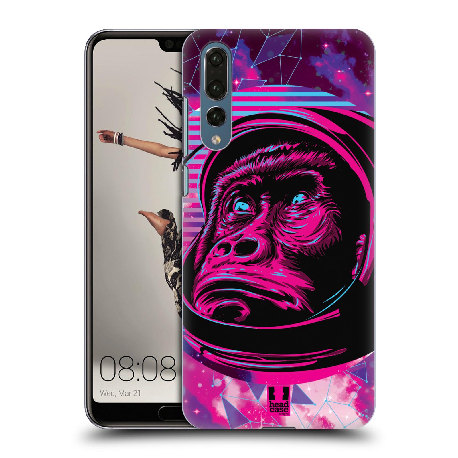 Plastové pouzdro na mobil Huawei P20 Pro - Head Case - Gorila ve skafandru