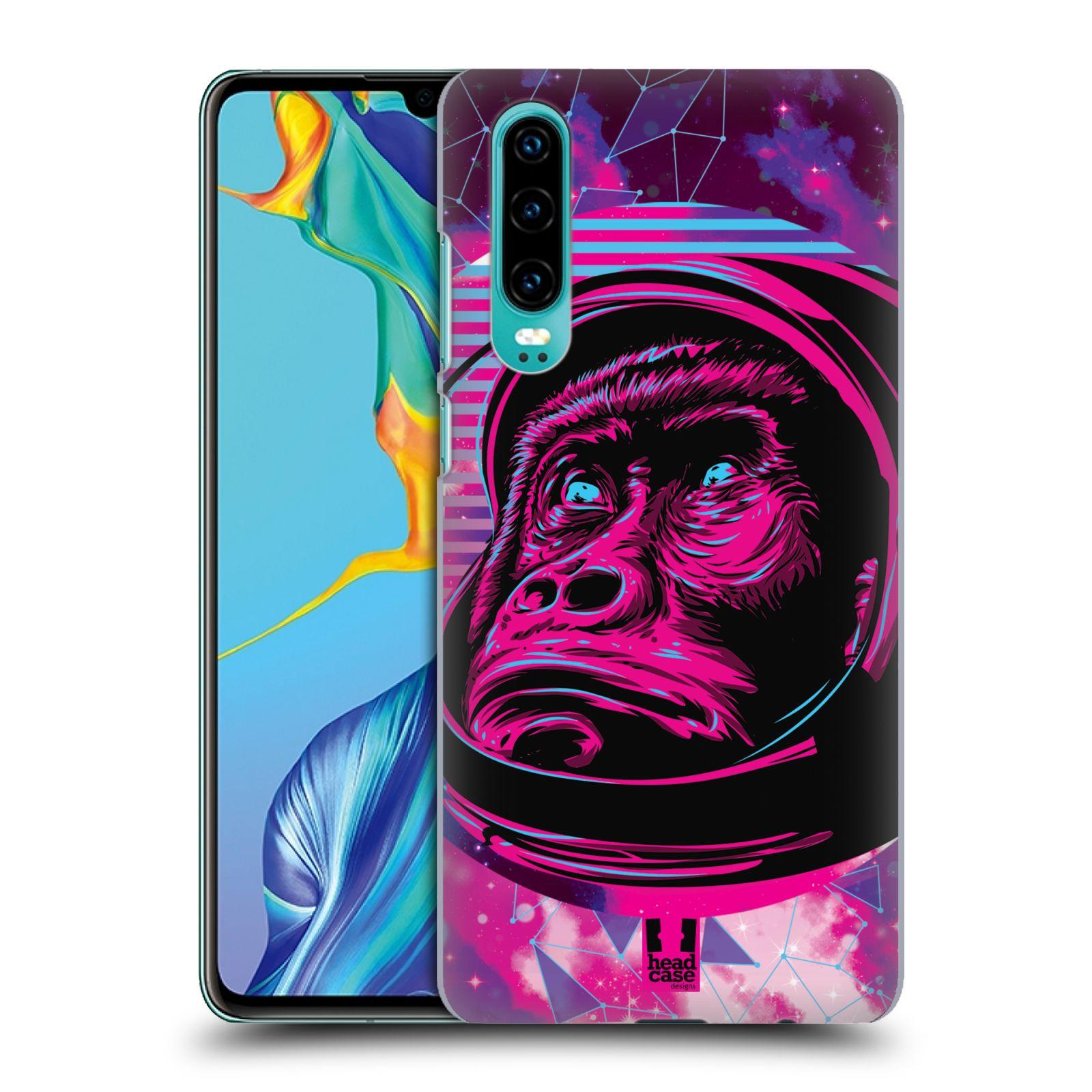 Plastové pouzdro na mobil Huawei P30 - Head Case - Gorila ve skafandru