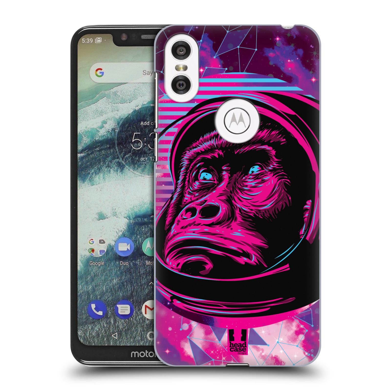 Plastové pouzdro na mobil Motorola One - Head Case - Gorila ve skafandru