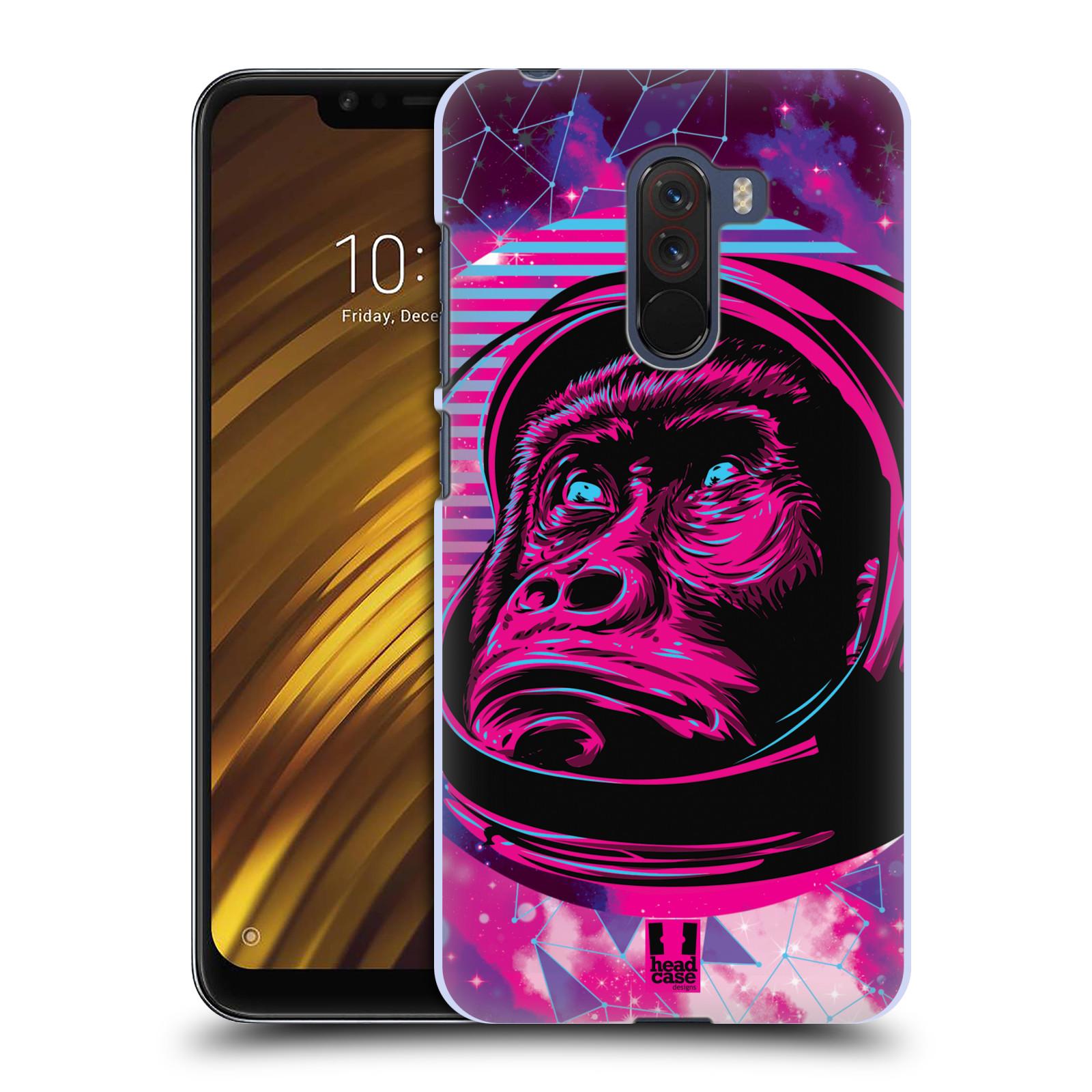 Plastové pouzdro na mobil Xiaomi Pocophone F1 - Head Case - Gorila ve skafandru