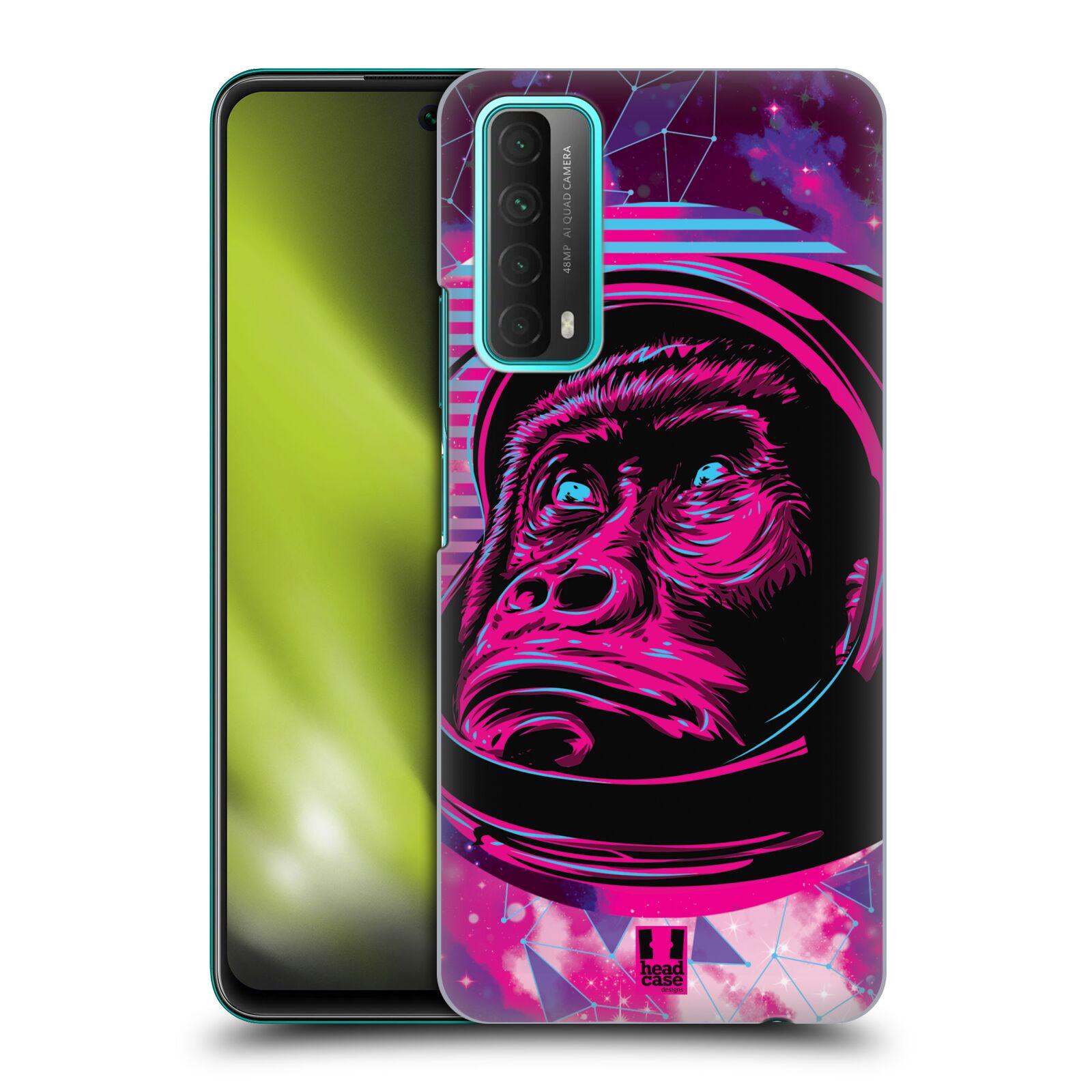 Plastové pouzdro na mobil Huawei P Smart (2021) - Head Case - Gorila ve skafandru