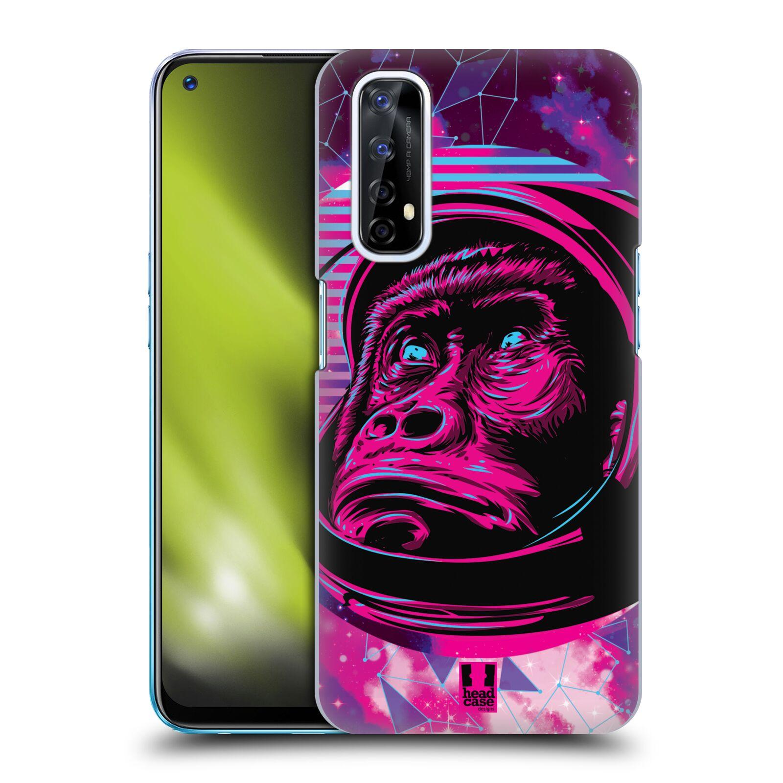 Plastové pouzdro na mobil Realme 7 - Head Case - Gorila ve skafandru