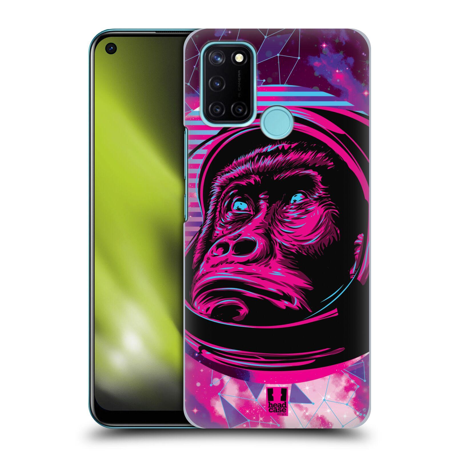 Plastové pouzdro na mobil Realme 7i - Head Case - Gorila ve skafandru