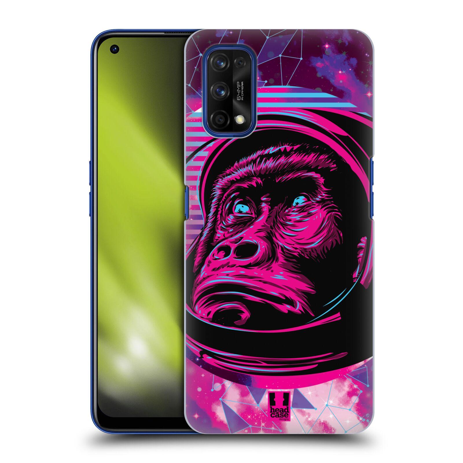 Plastové pouzdro na mobil Realme 7 Pro - Head Case - Gorila ve skafandru
