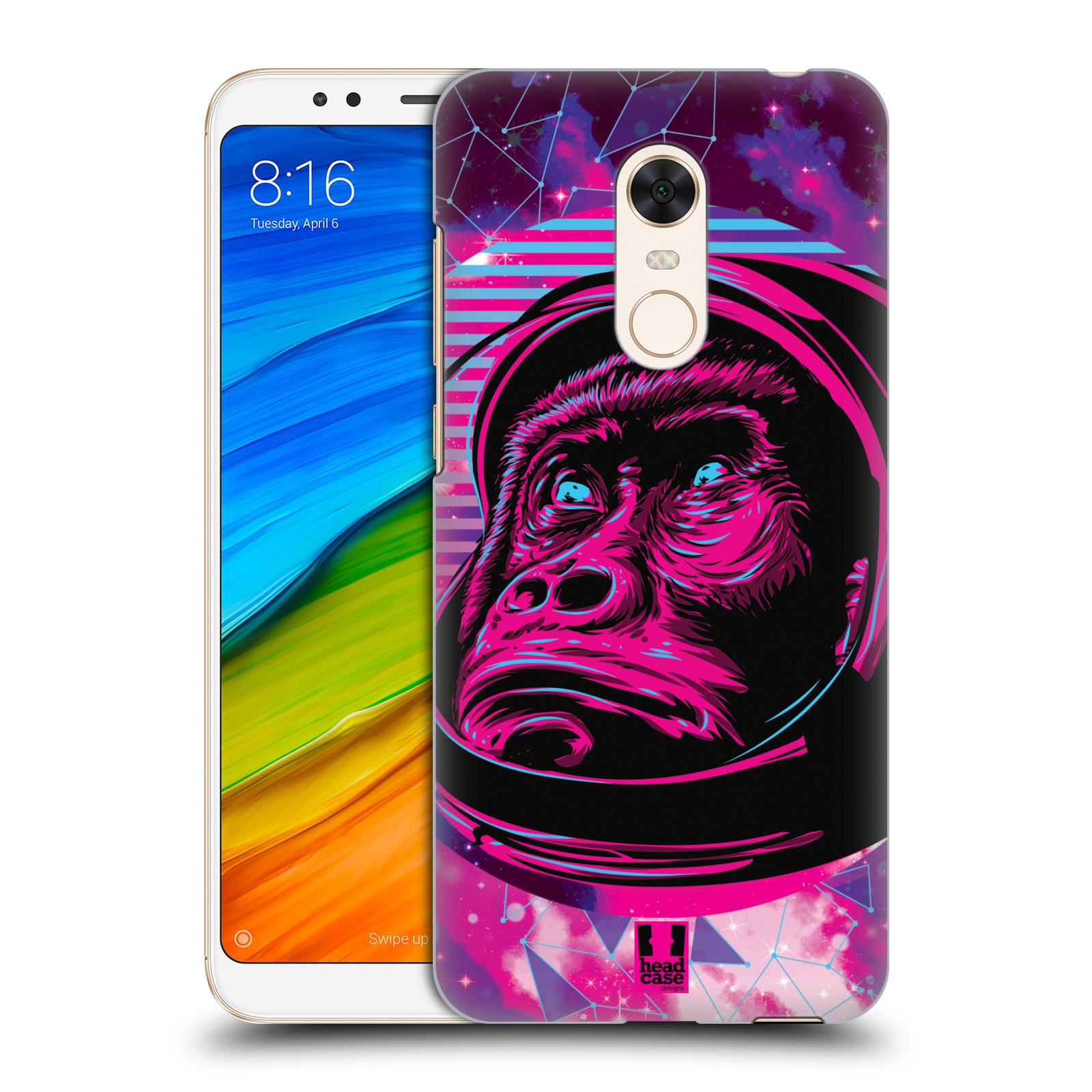 Plastové pouzdro na mobil Xiaomi Redmi 5 Plus - Head Case - Gorila ve skafandru