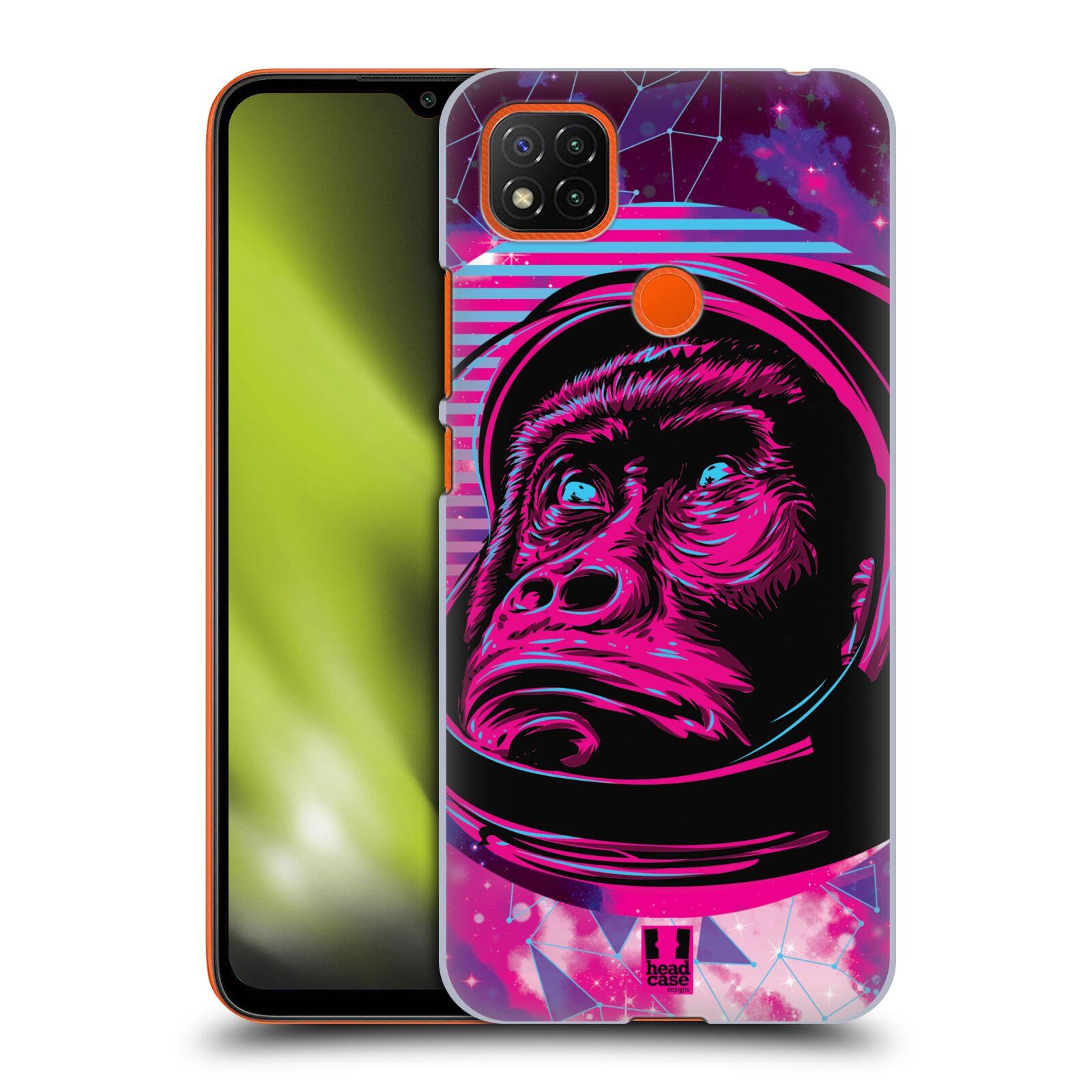 Plastové pouzdro na mobil Xiaomi Redmi 9C - Head Case - Gorila ve skafandru