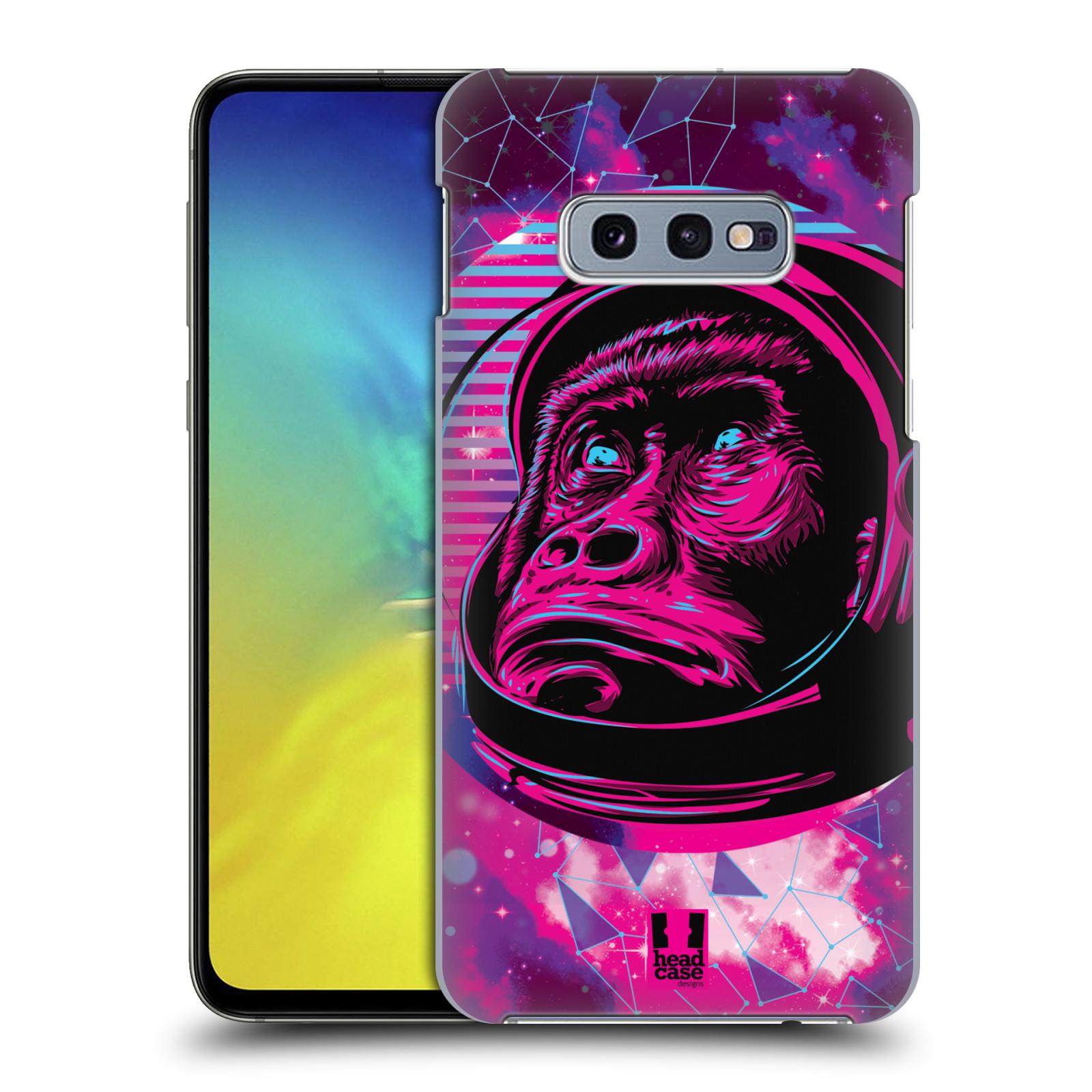 Plastové pouzdro na mobil Samsung Galaxy S10e - Head Case - Gorila ve skafandru