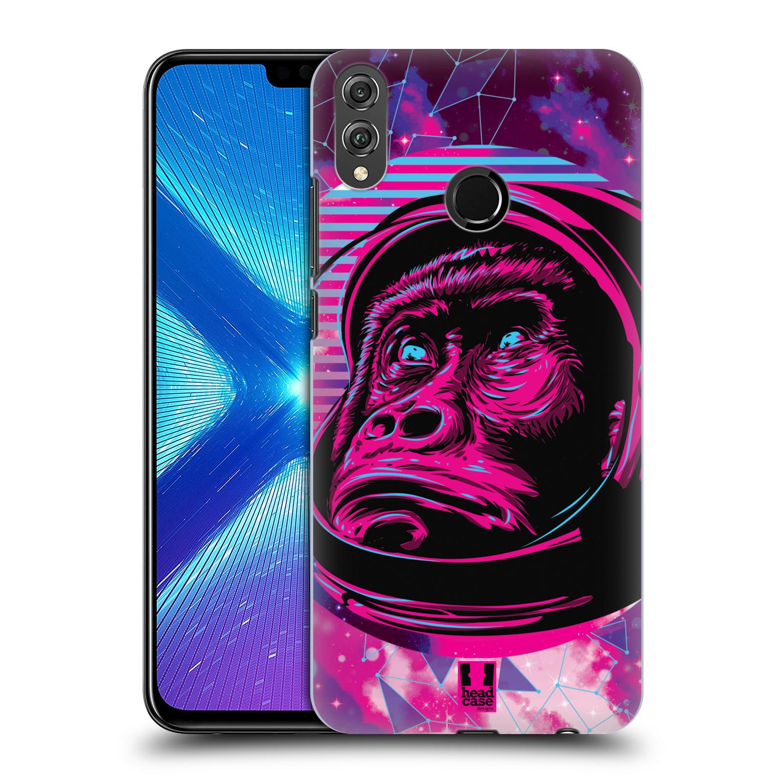 Plastové pouzdro na mobil Honor 8X - Head Case - Gorila ve skafandru