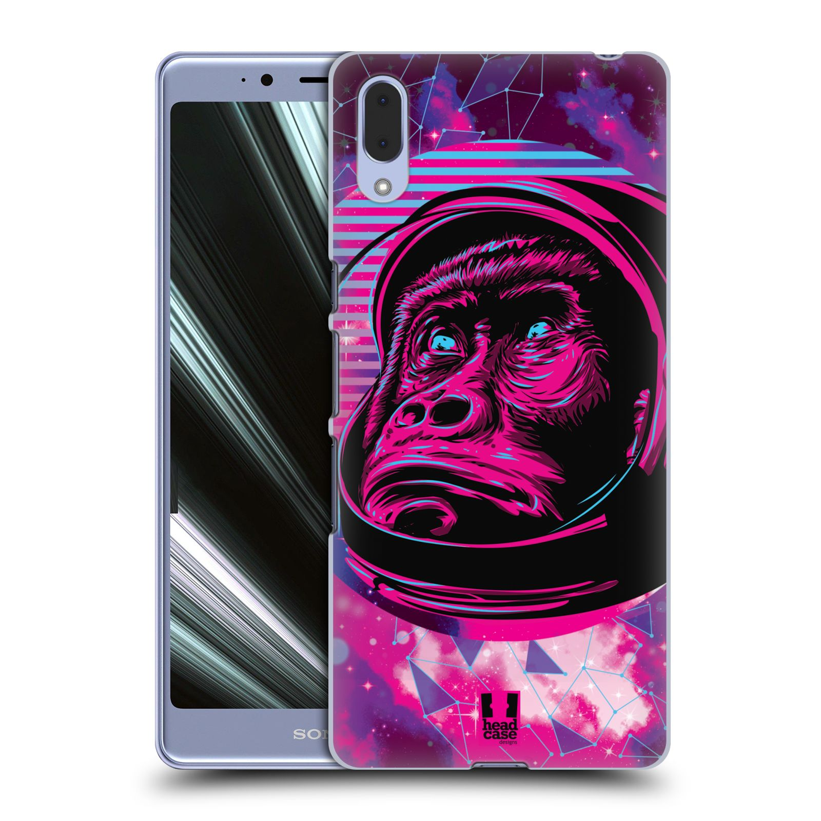 Plastové pouzdro na mobil Sony Xperia L3 - Head Case - Gorila ve skafandru