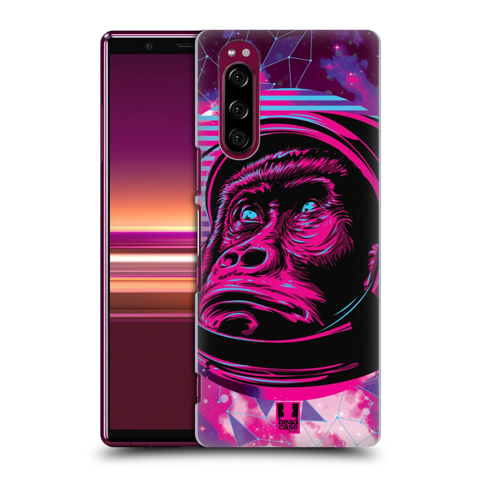 Plastové pouzdro na mobil Sony Xperia 5 - Head Case - Gorila ve skafandru