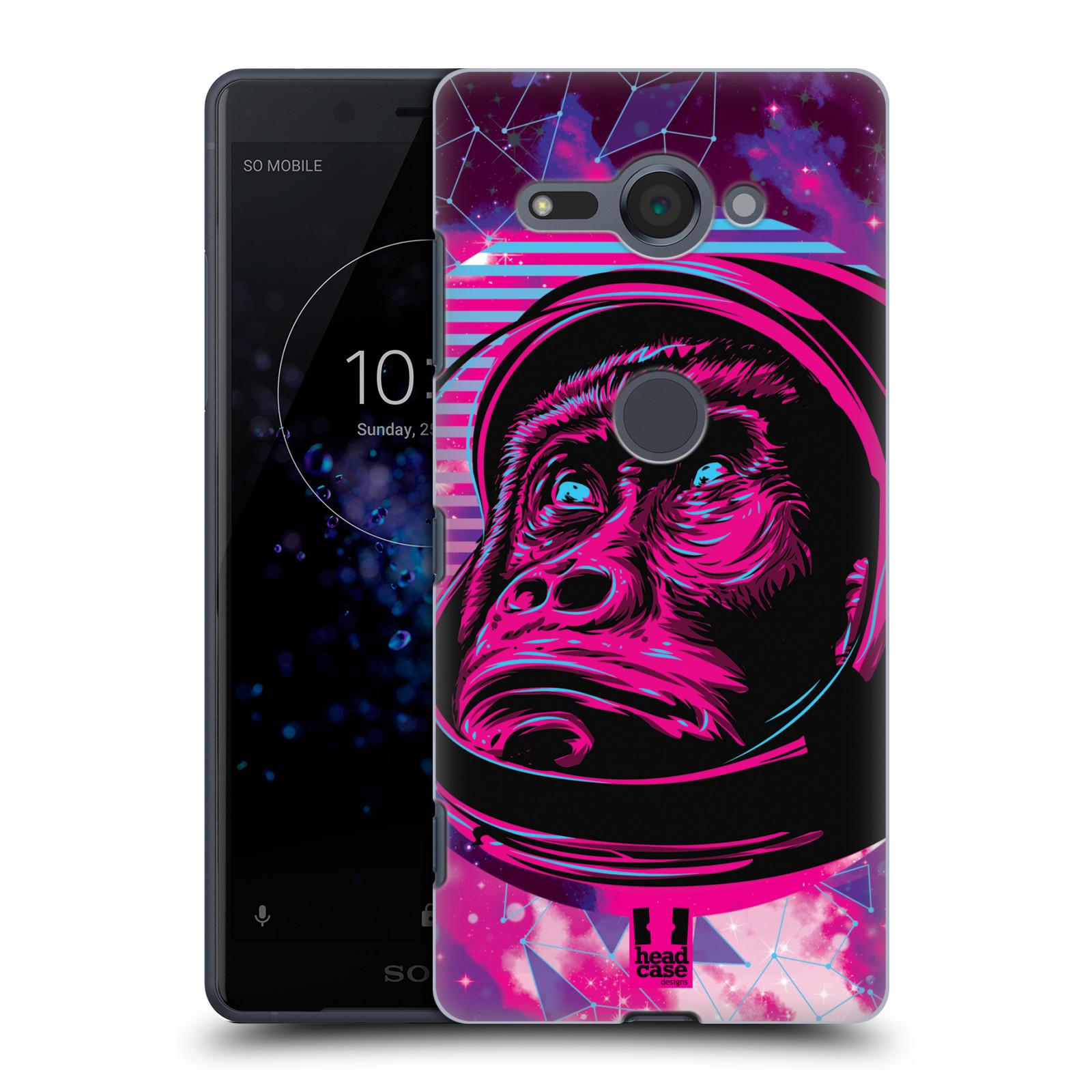 Plastové pouzdro na mobil Sony Xperia XZ2 Compact - Head Case - Gorila ve skafandru