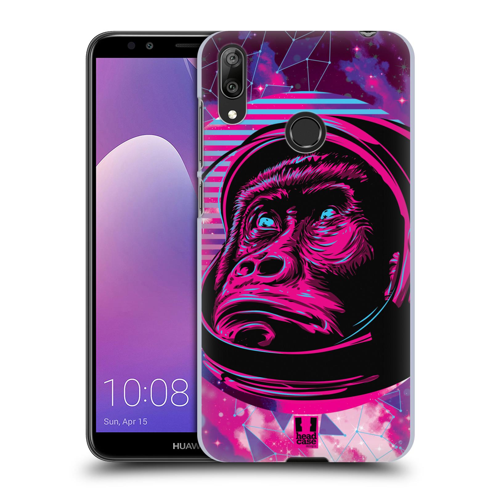Plastové pouzdro na mobil Huawei Y7 (2019) - Head Case - Gorila ve skafandru