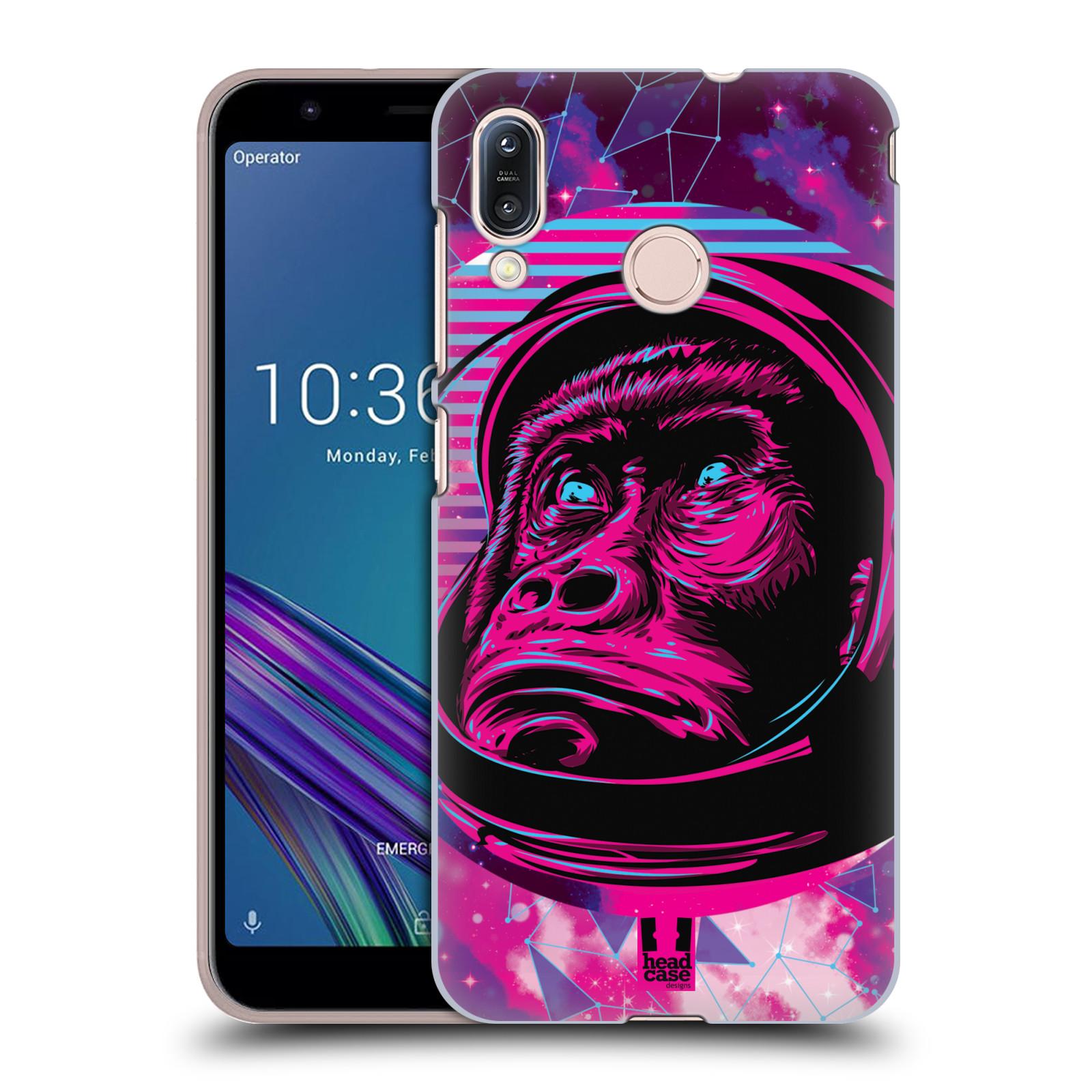 Plastové pouzdro na mobil Asus Zenfone Max M1 ZB555KL - Head Case - Gorila ve skafandru