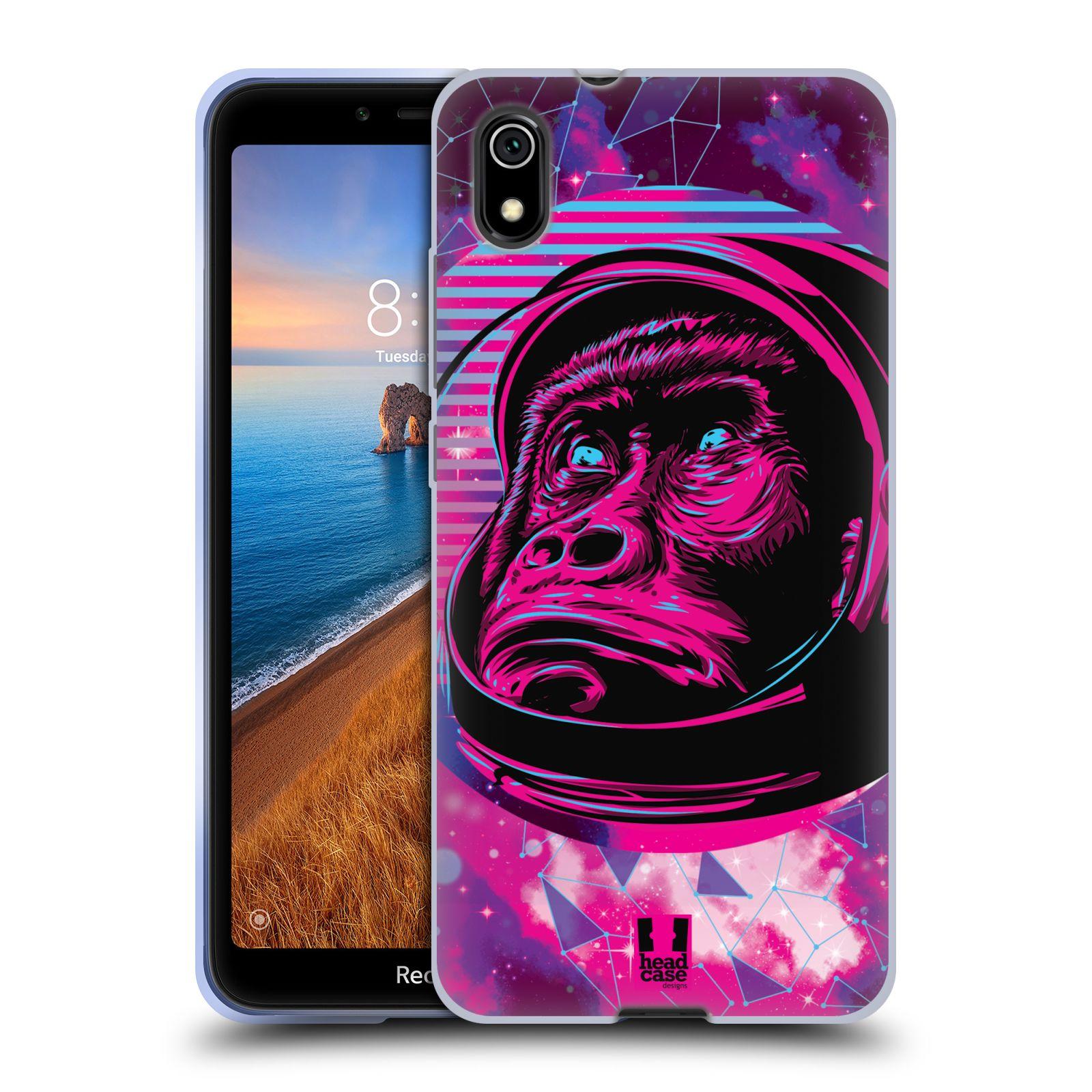 Silikonové pouzdro na mobil Redmi 7A - Head Case - Gorila ve skafandru