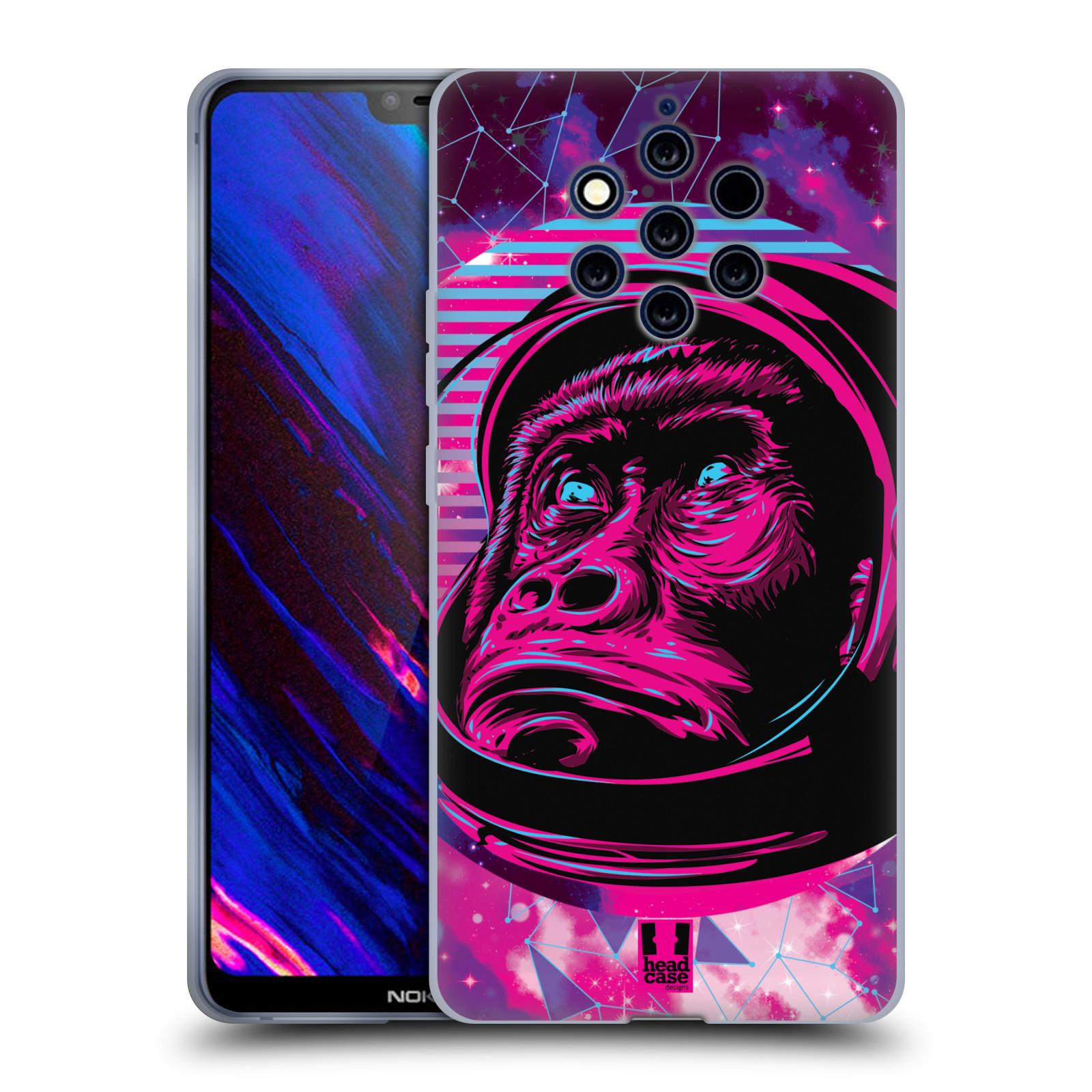 Silikonové pouzdro na mobil Nokia 9 PureView - Head Case - Gorila ve skafandru